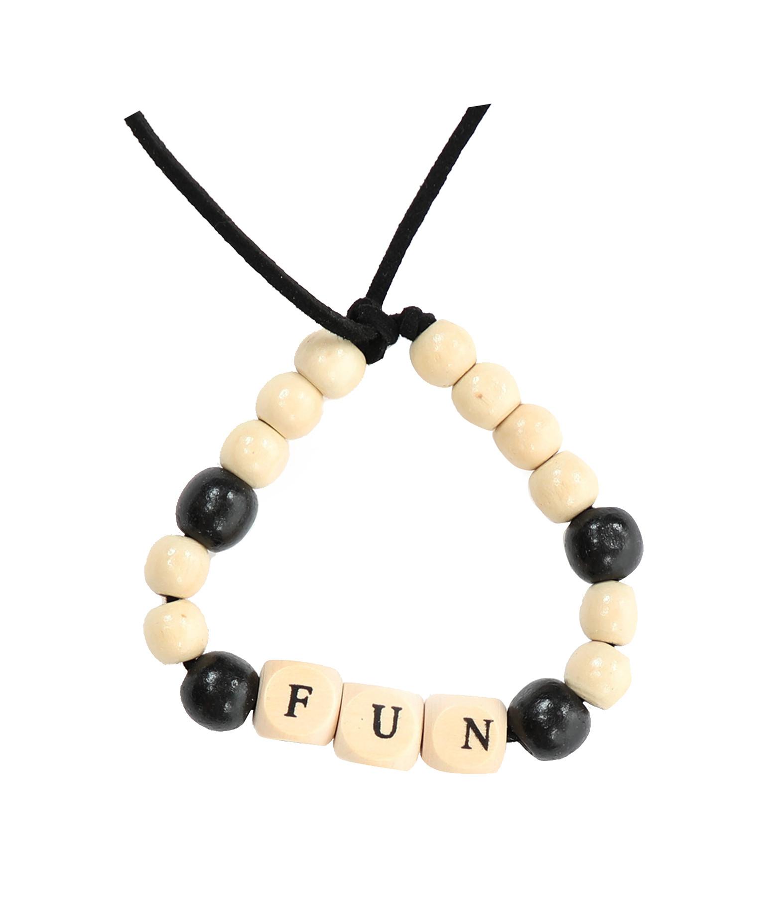 LAUREN RUBINSKI - Bracelet Love Beads Bois FUN