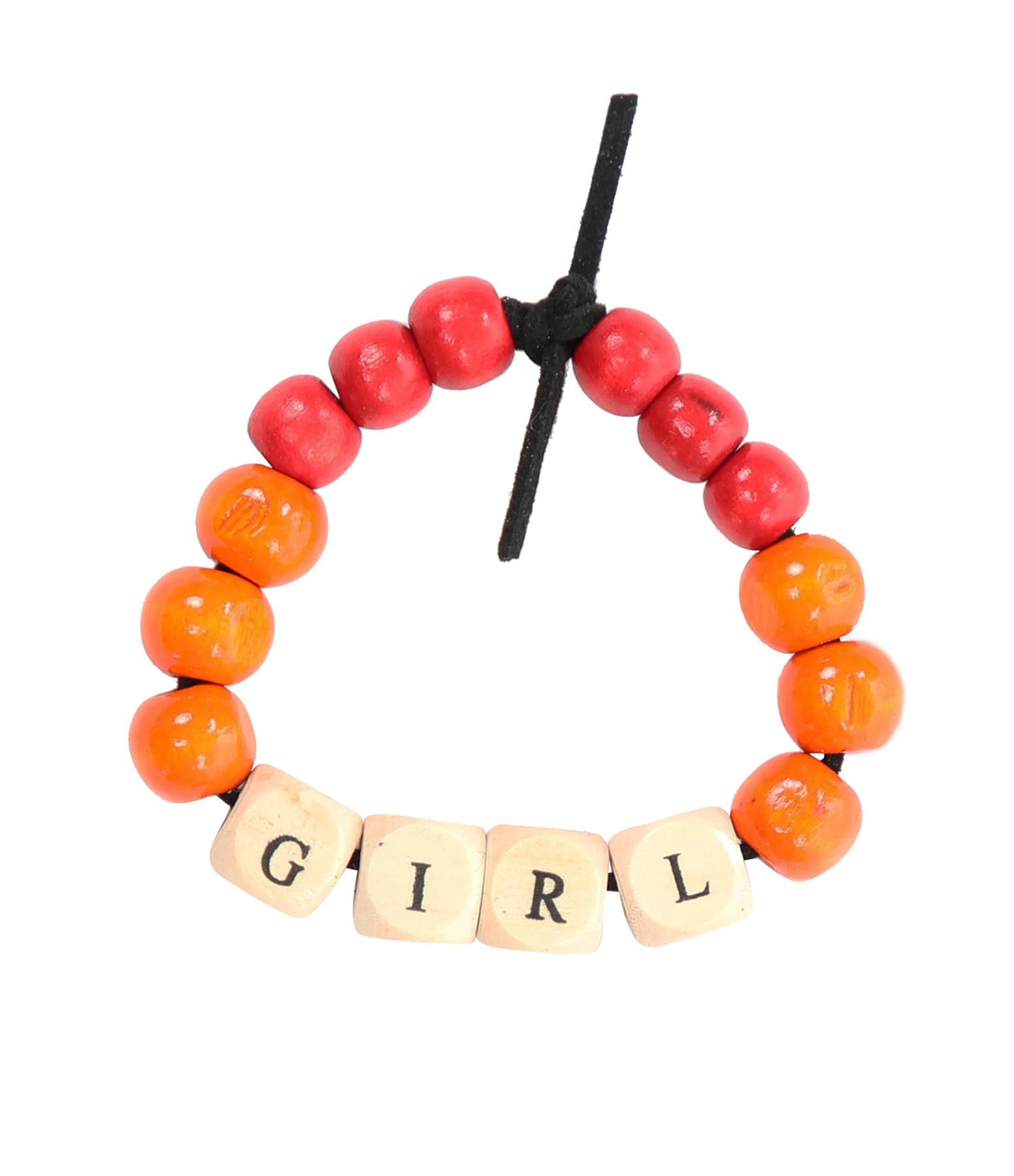 LAUREN RUBINSKI - Bracelet Love Beads Bois GIRL