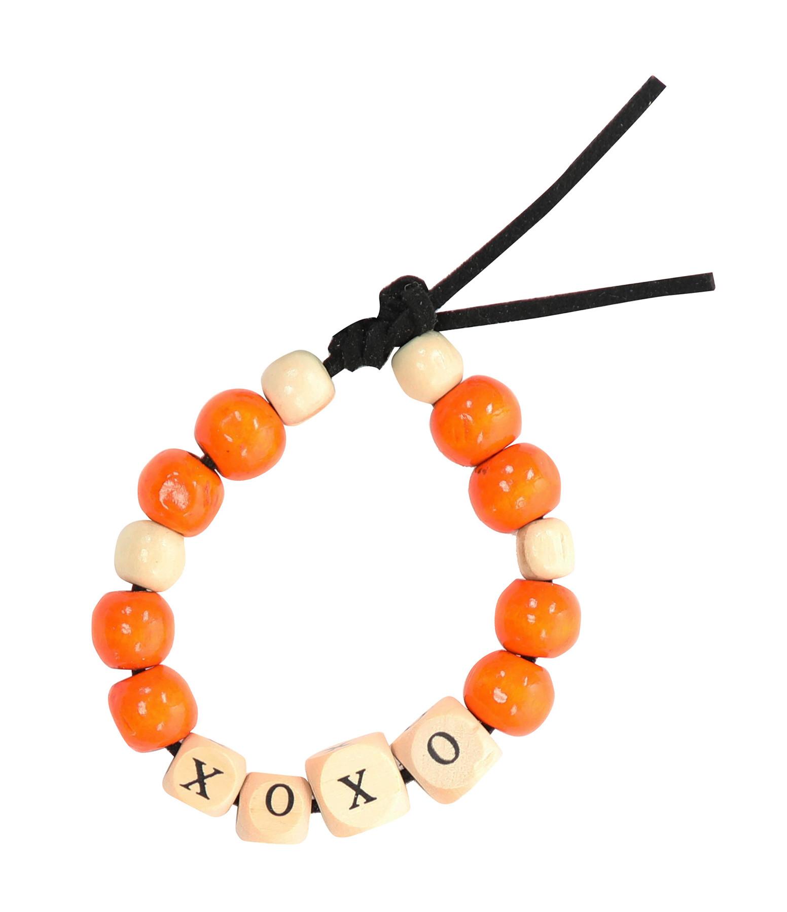LAUREN RUBINSKI - Bracelet Love Beads Bois XOXO