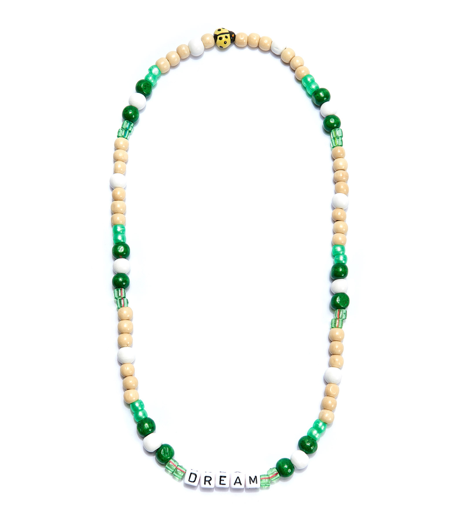 LAUREN RUBINSKI - Collier Love Beads Bois Plastique DREAM