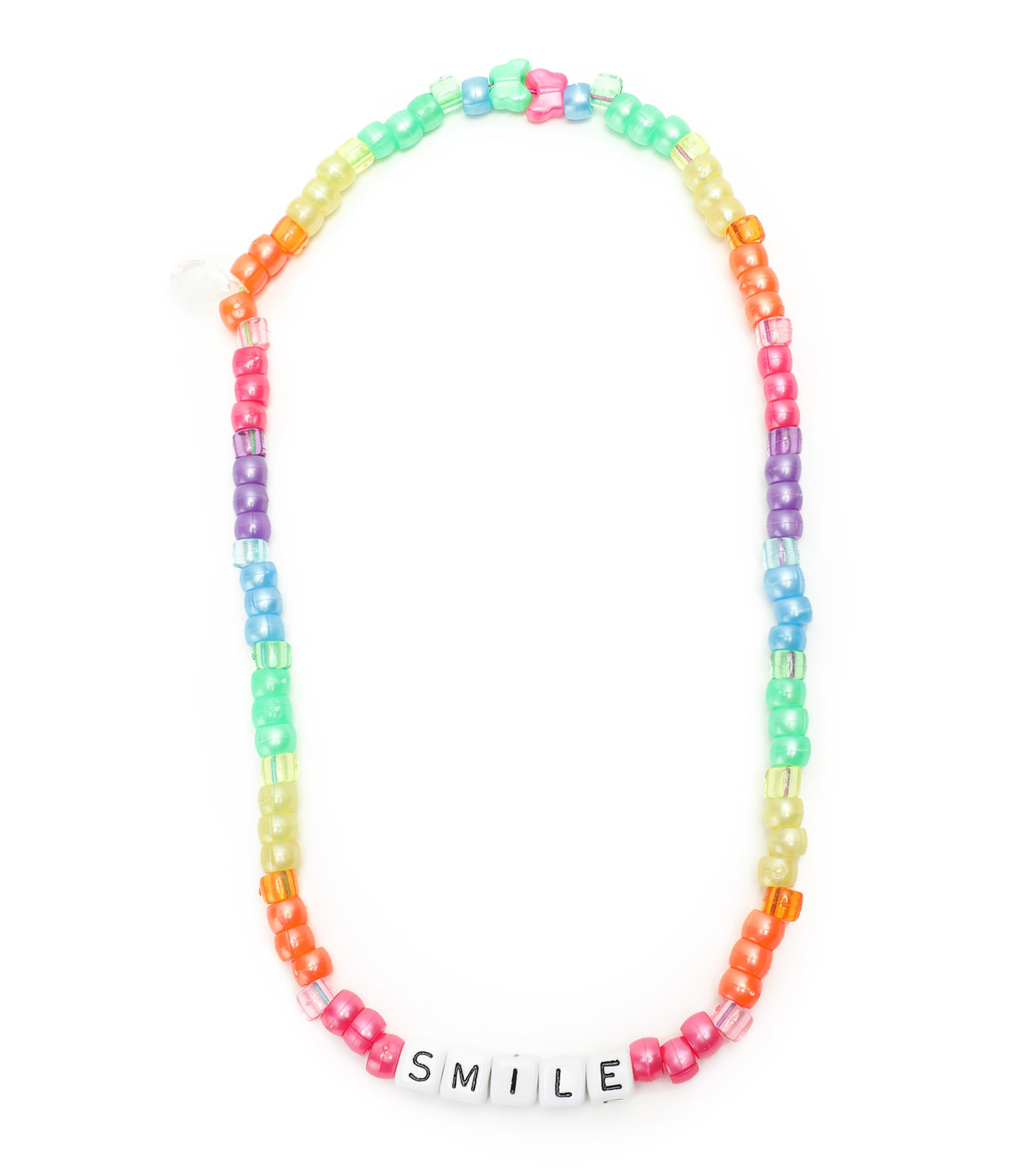 LAUREN RUBINSKI - Collier Love Beads SMILE Multicolore