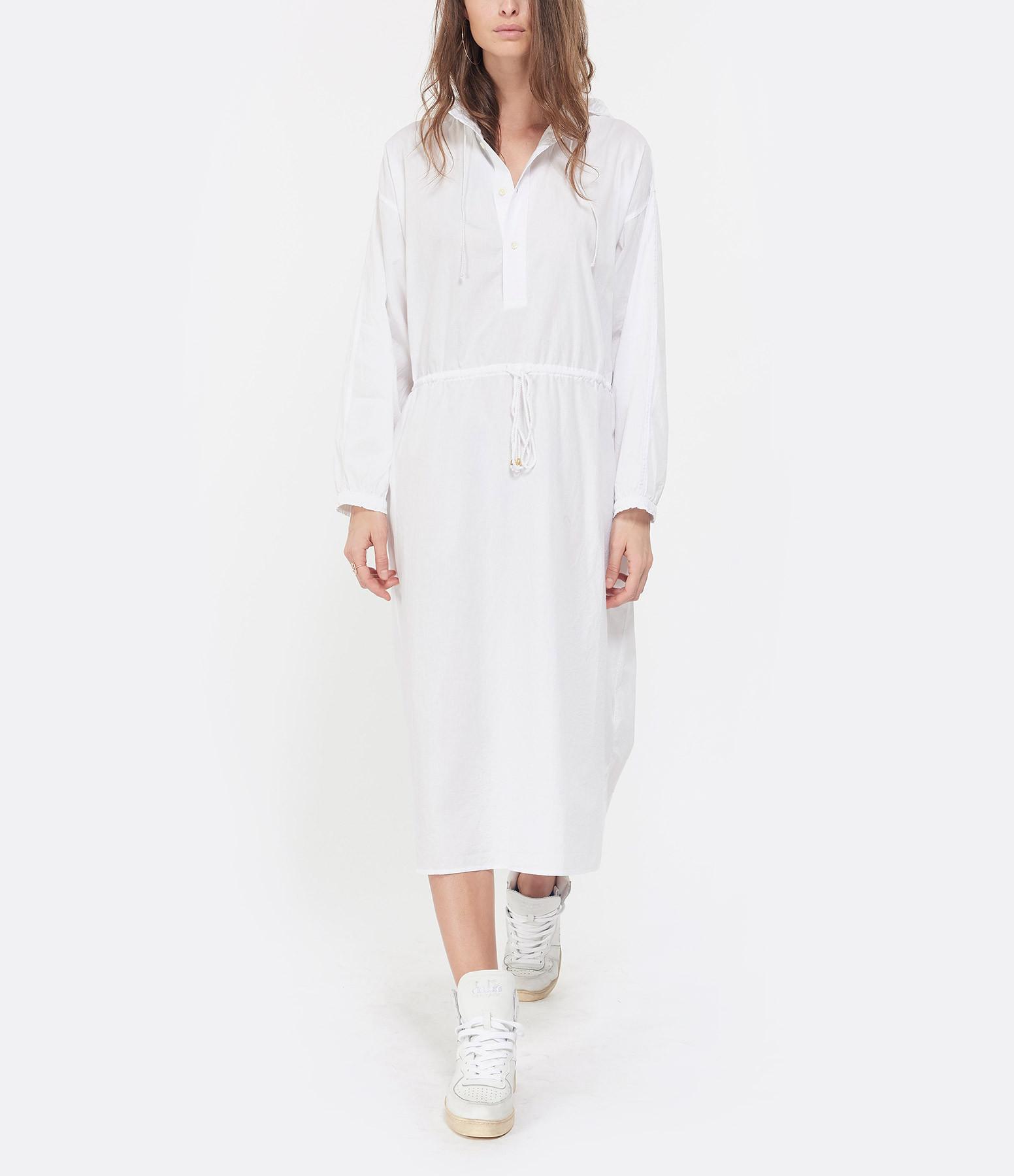 LAURENCE BRAS - Robe Ballade Coton Blanc