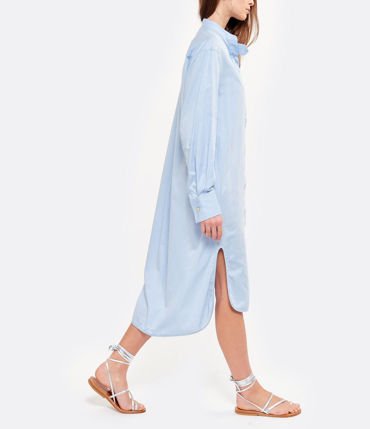 LAURENCE BRAS - Robe Picasso Coton Bleu