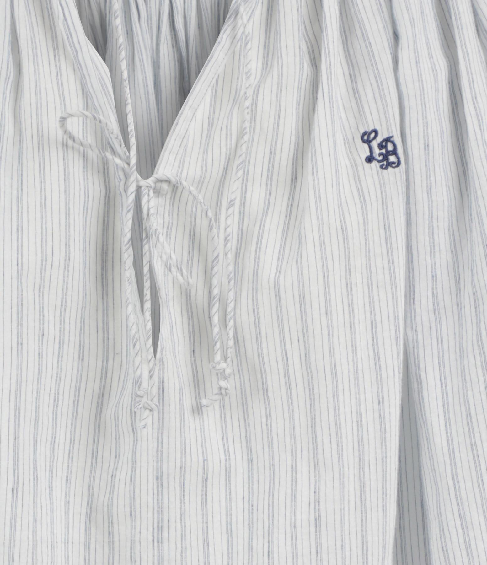 LAURENCE BRAS - Blouse New Cigar Rayures Bleu