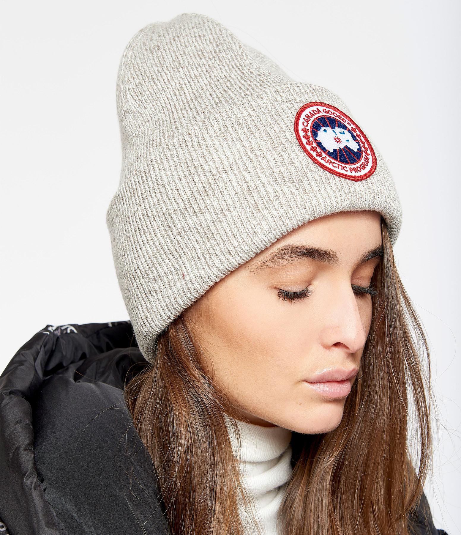 CANADA GOOSE - Bonnet Arctic Disc Lièvre