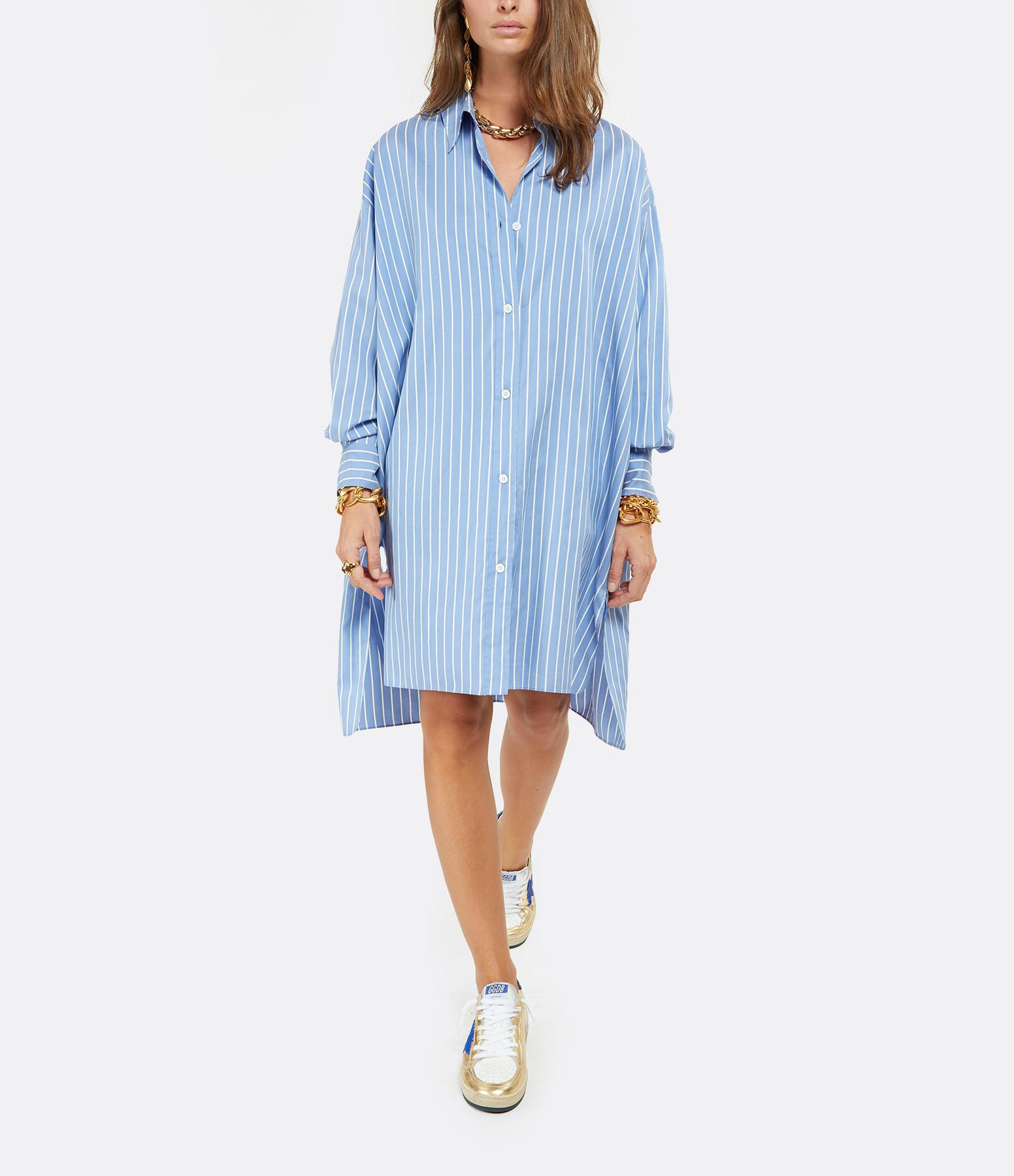 ISABEL MARANT - Chemise Macali Coton Bleu