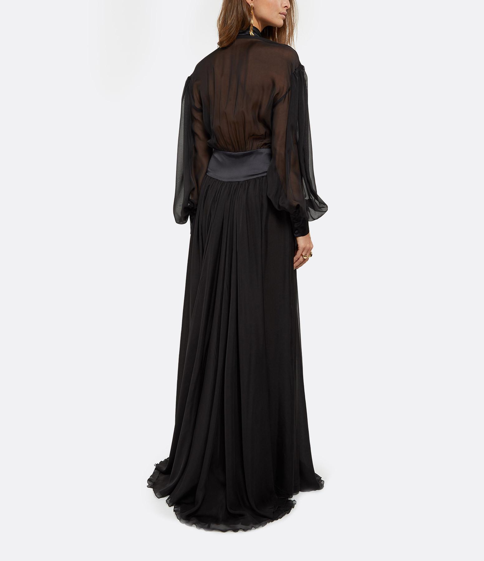 OUD - Robe Romane Soie Noir