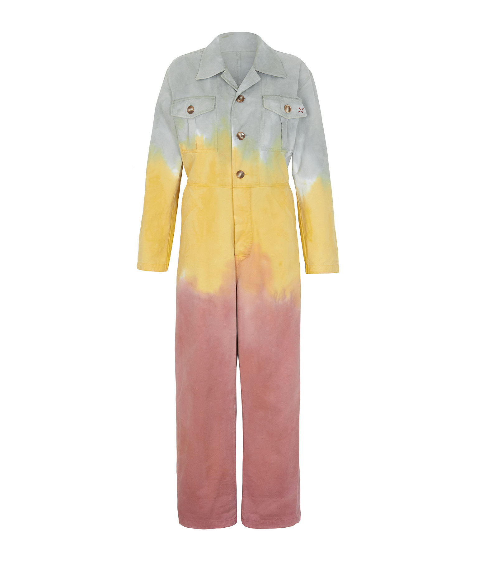 LOVE & LET DYE - Combinaison Brooklyn Coton Multicolore