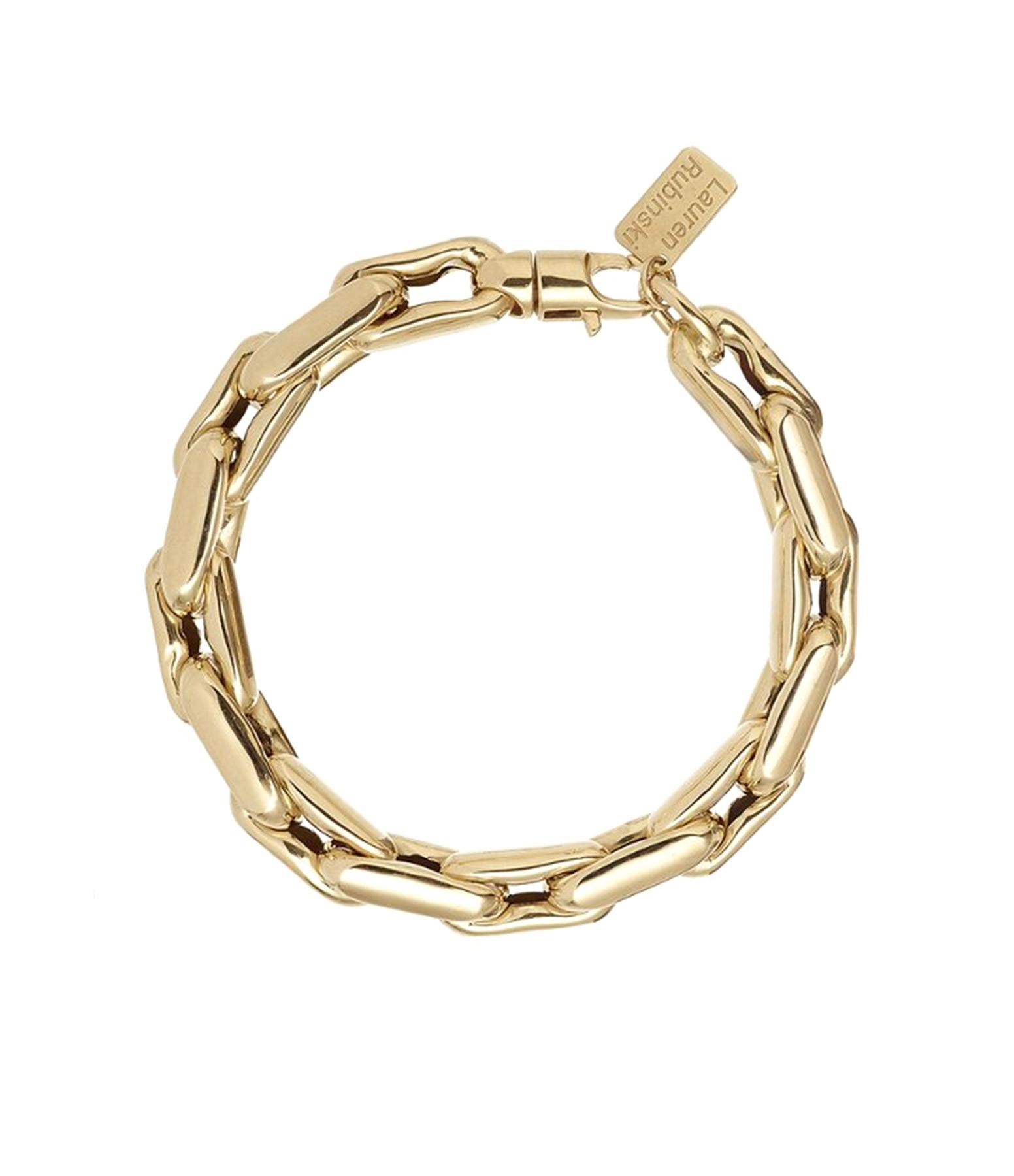LAUREN RUBINSKI - Bracelet Medium 14 carats Or Jaune
