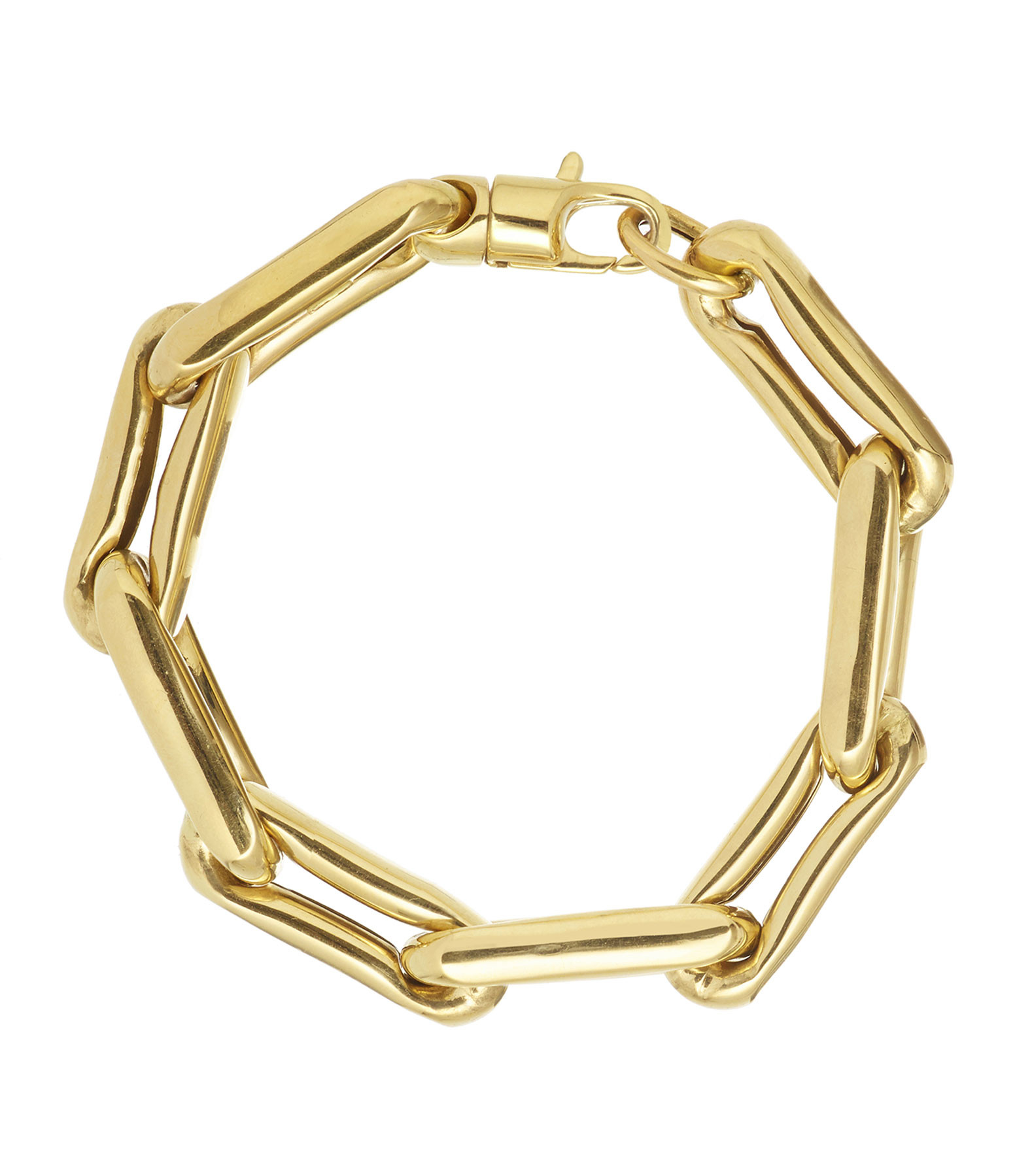 LAUREN RUBINSKI - Bracelet Extra Large 14 carats Or Jaune