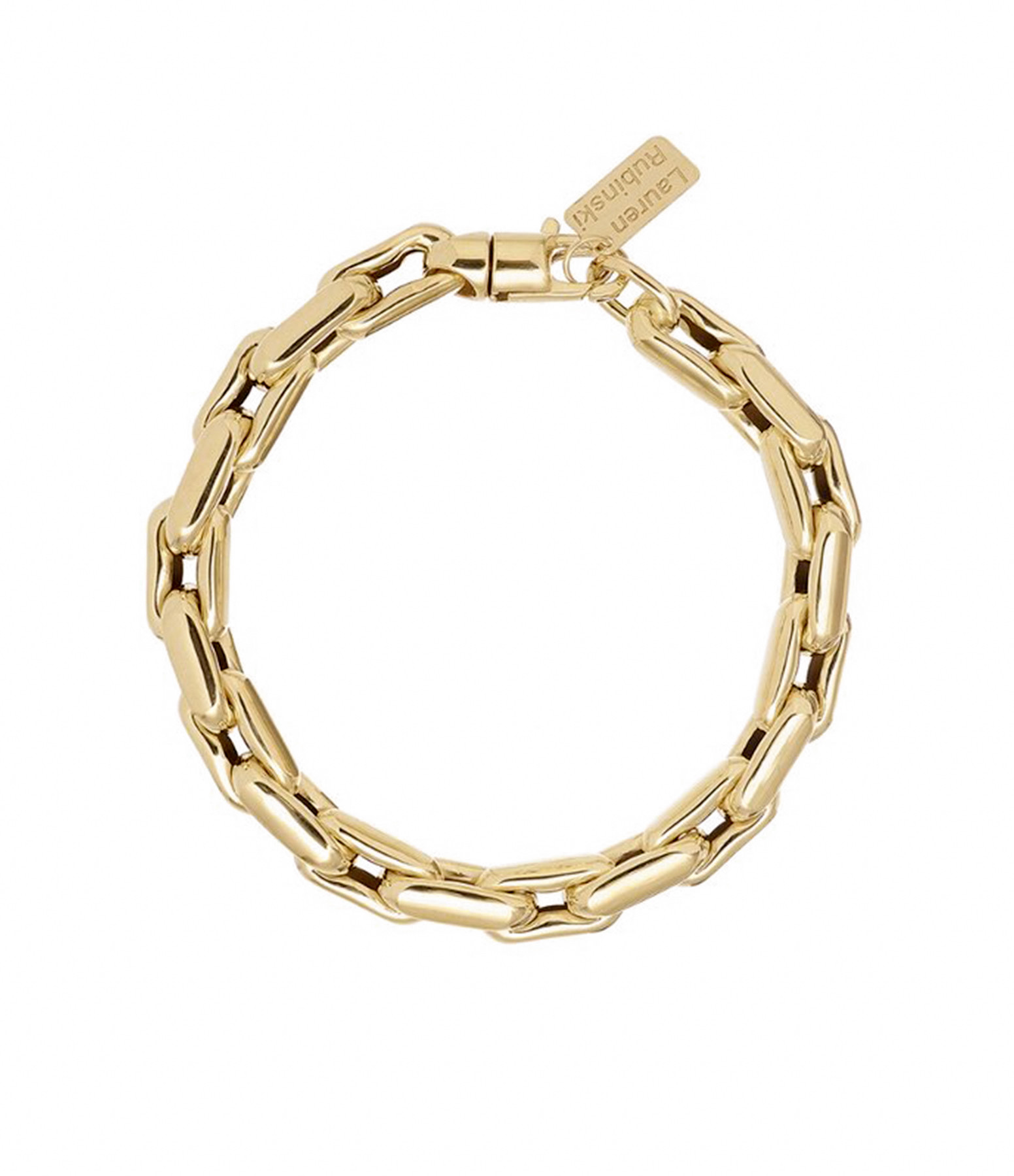 LAUREN RUBINSKI - Bracelet Small 14 carats Or Jaune