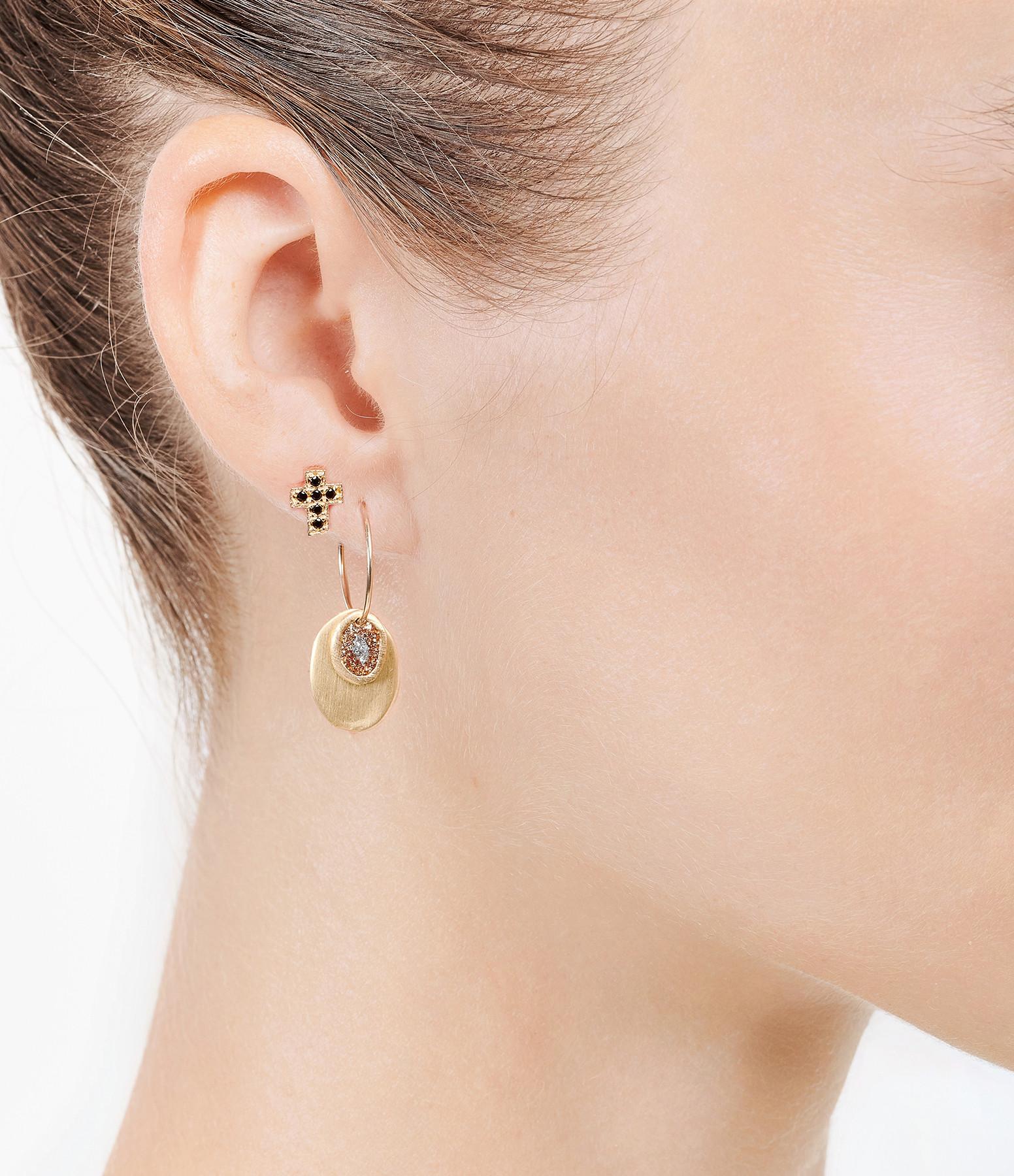 LSONGE - Boucles d'oreilles Éclat XS M Doré