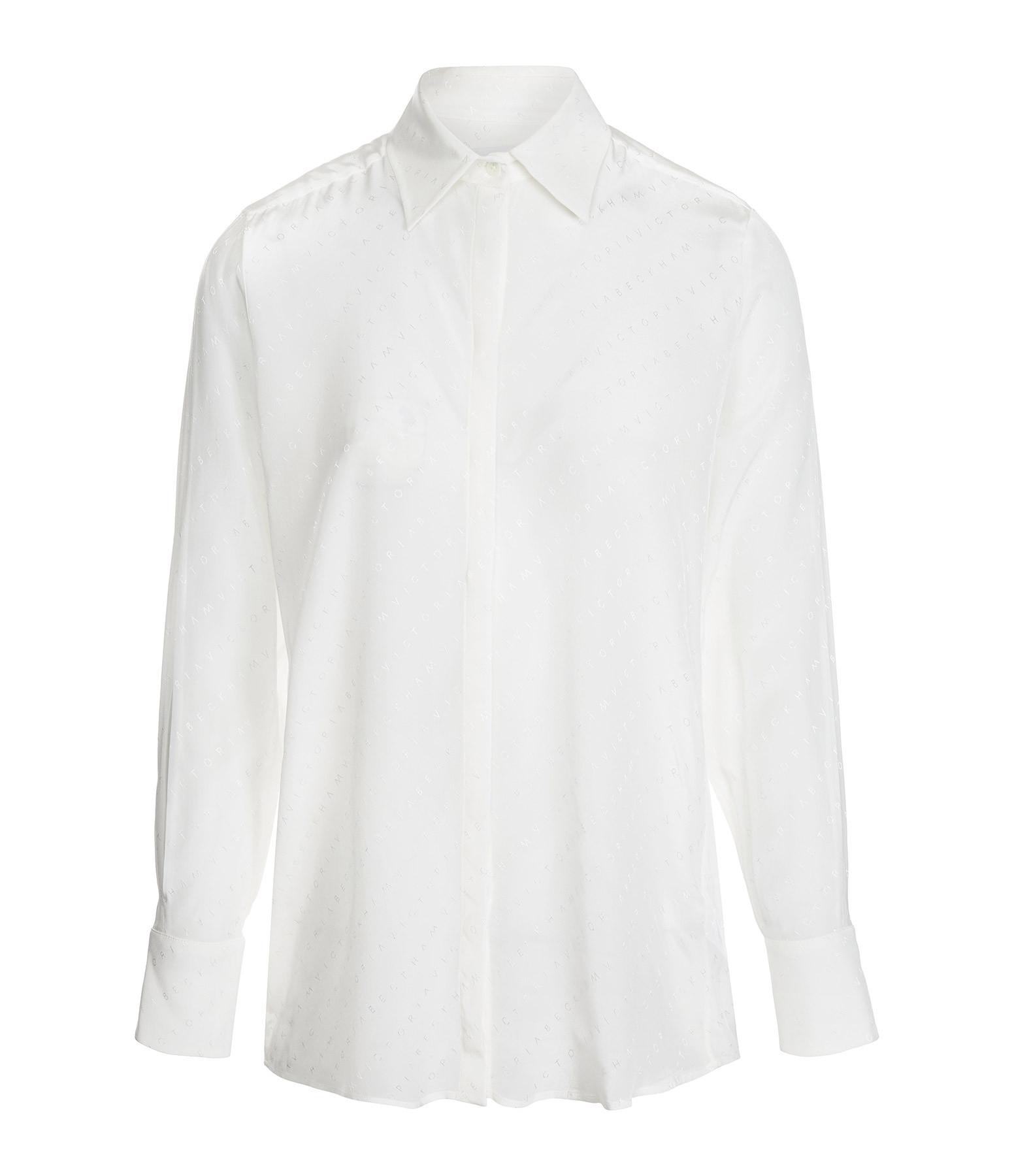 VICTORIA VICTORIA BECKHAM - Chemise Manches Fendues Blanc