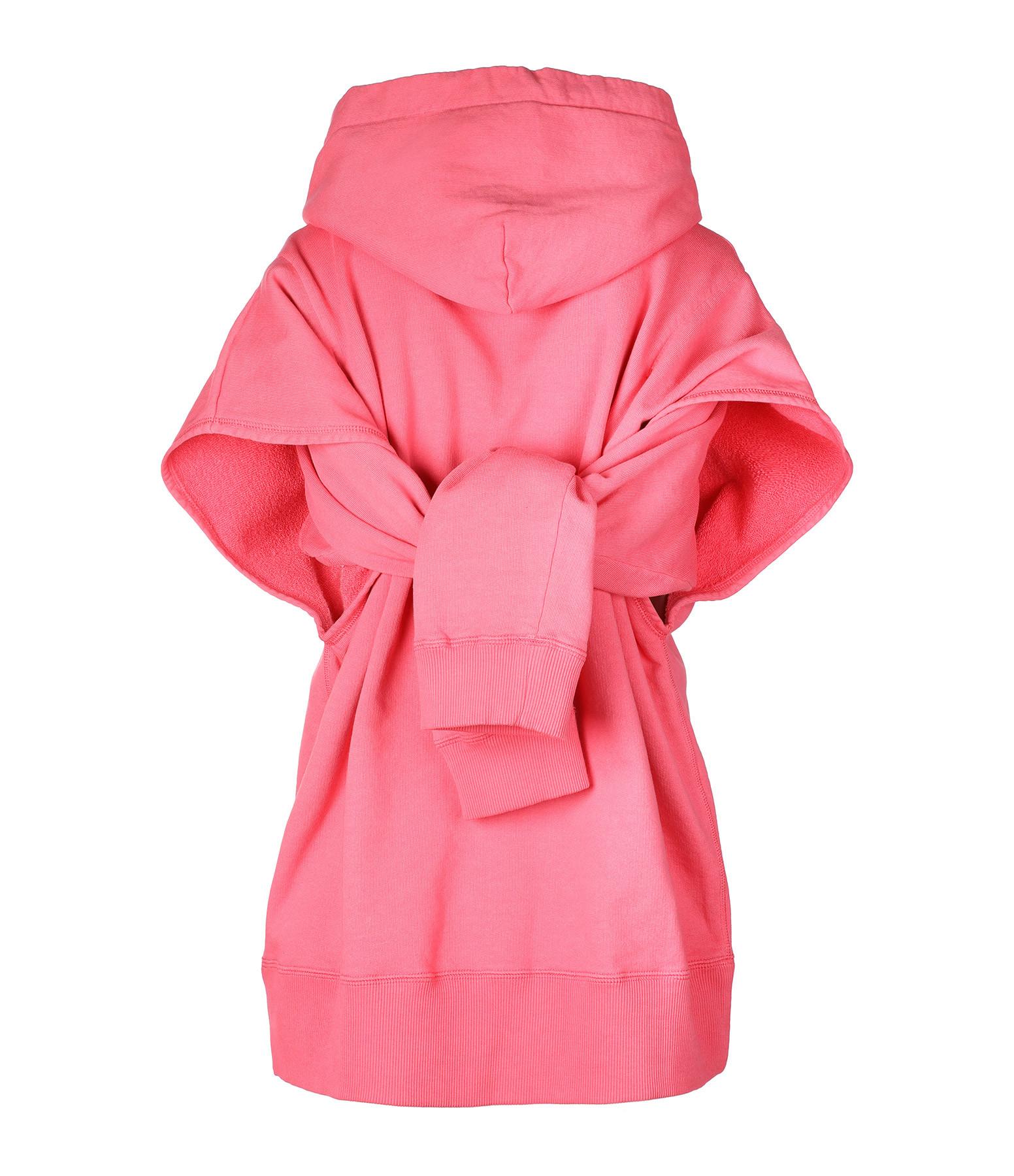 MM6 MAISON MARGIELA - Sweatshirt Coton Rose Barbie