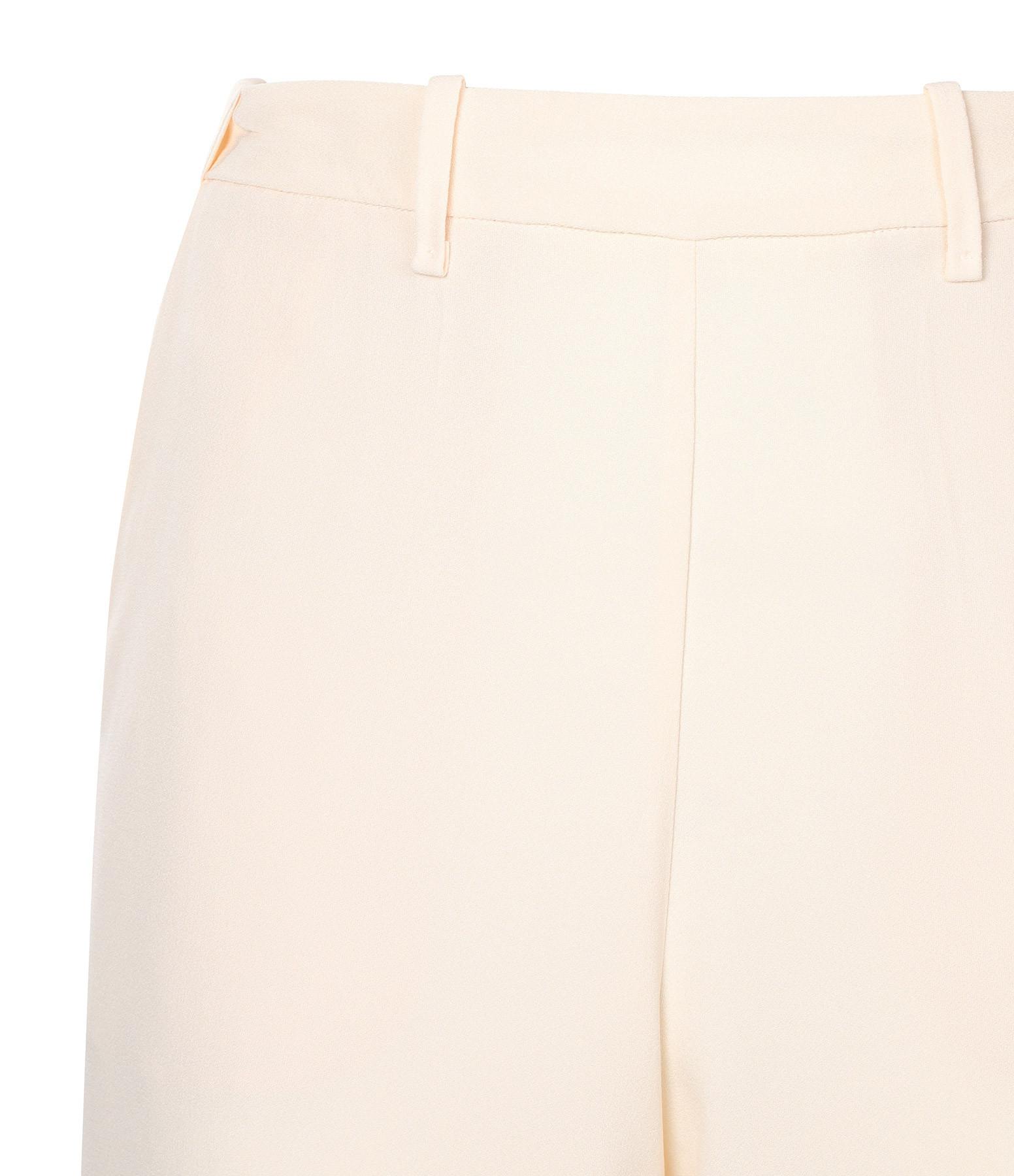 FORTE_FORTE - Pantalon Crèpe Satin Ivoire