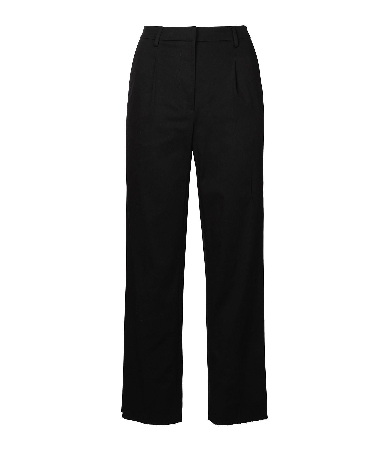 GOLDEN GOOSE - Pantalon Austin Coton Noir