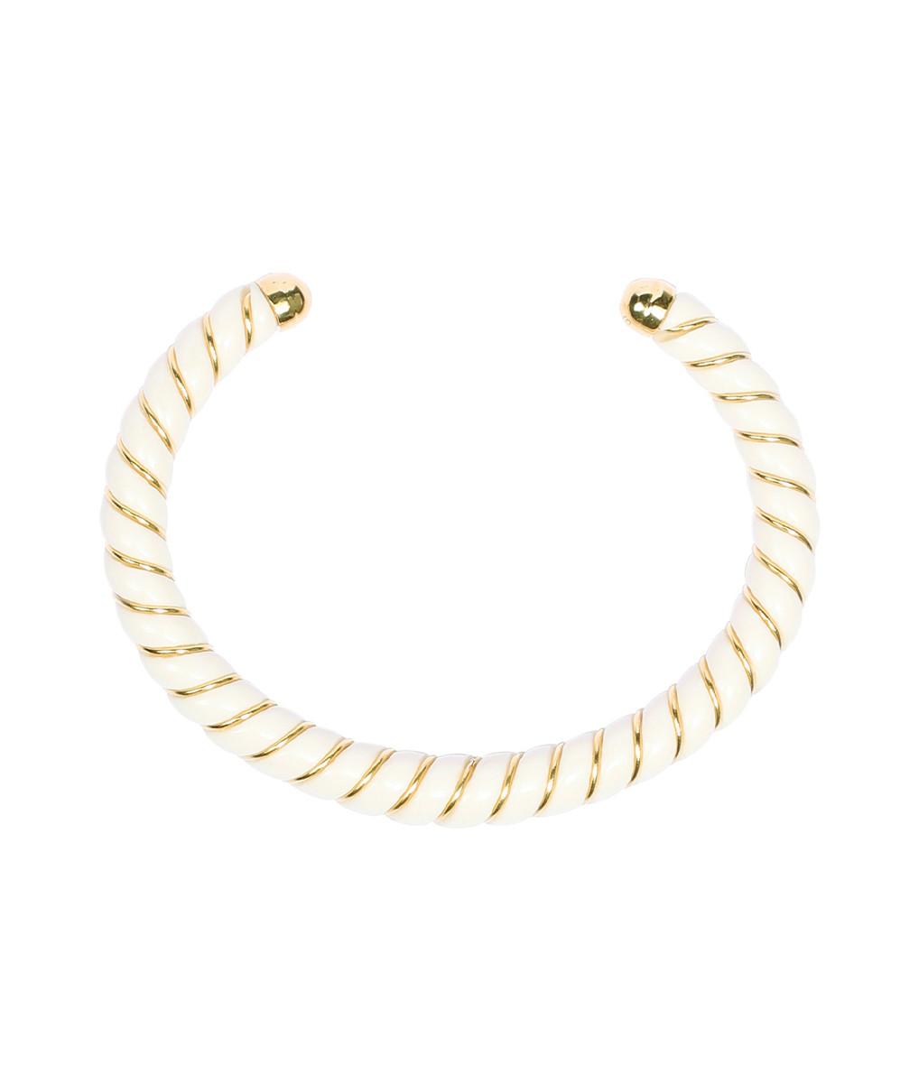 AURELIE BIDERMANN - Bracelet New Diana Ivoire, Exclusivité Lulli
