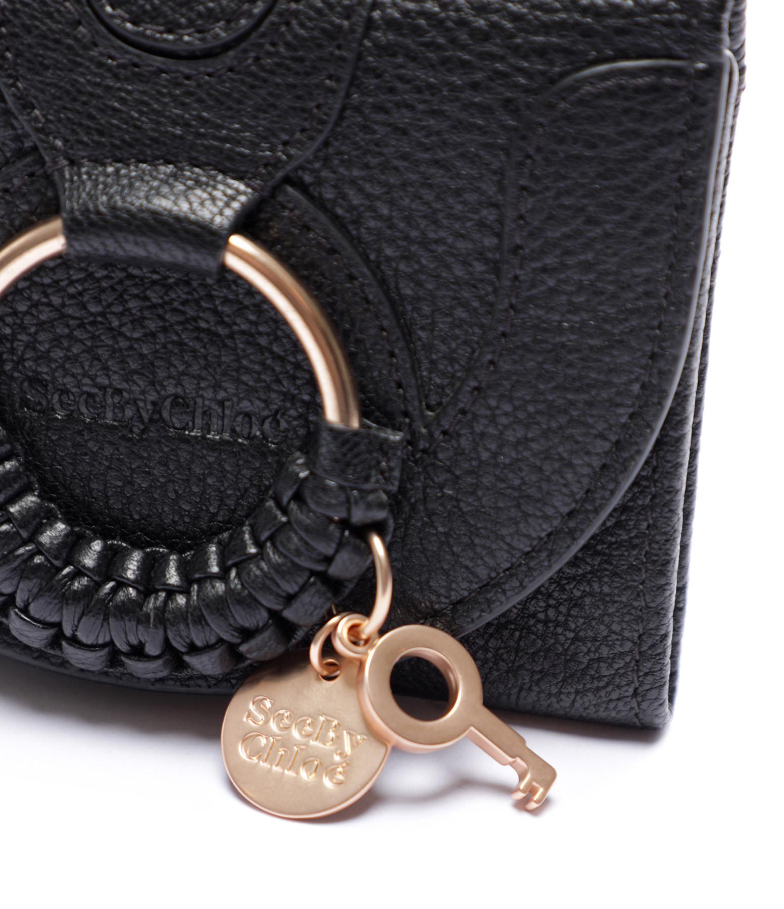 SEE BY CHLOE - Porte-monnaie Hana Cuir Noir