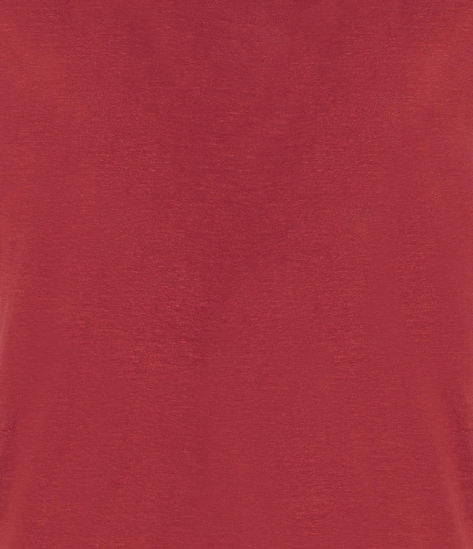 ISABEL MARANT ÉTOILE - Tee-shirt Zankou Lin Rouge