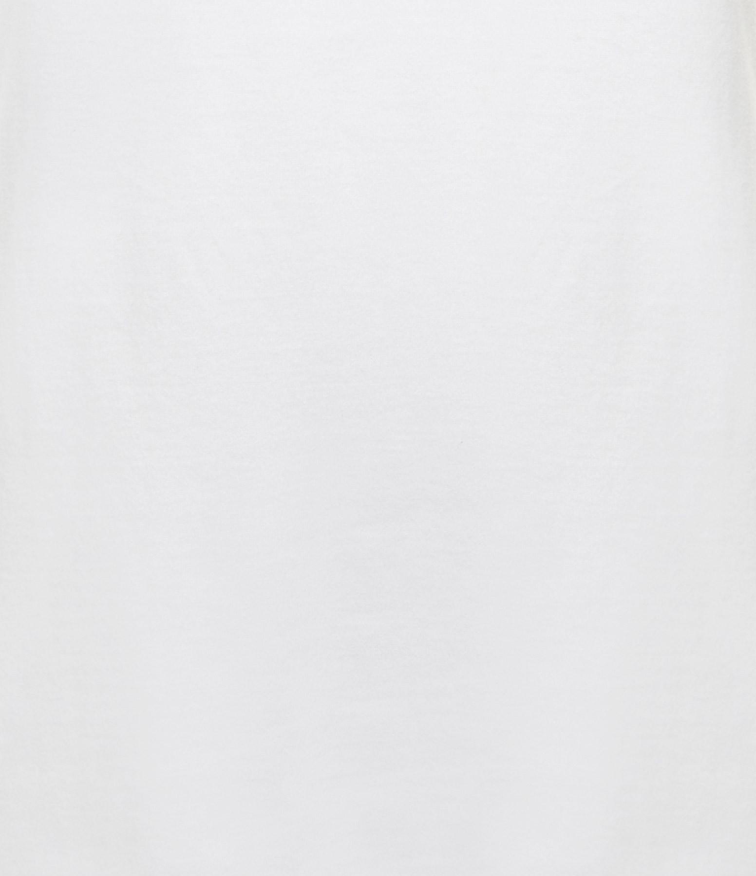 MAJESTIC FILATURES - Tee-shirt Jamie Col Rond Coton Blanc