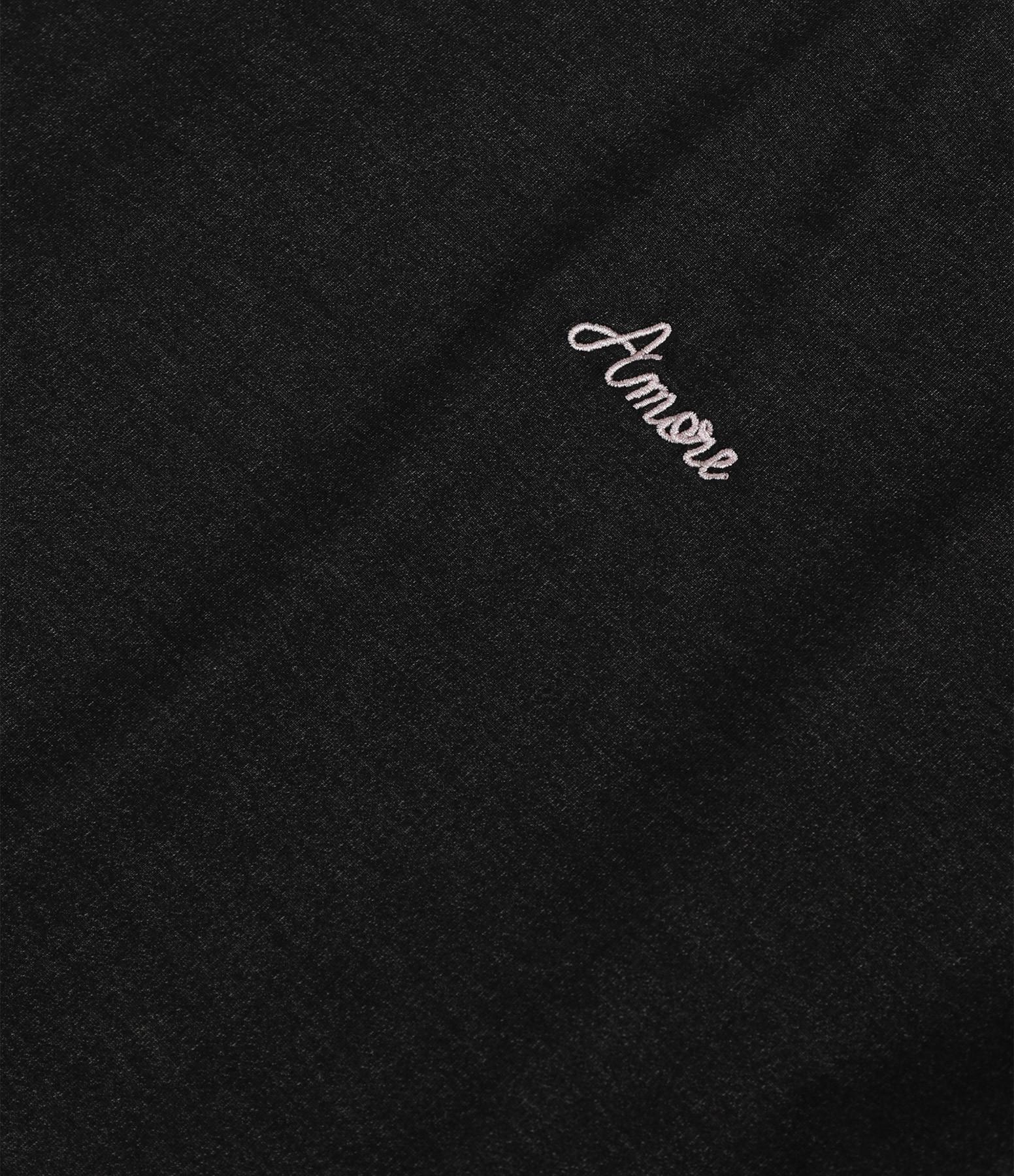 MAISON LABICHE - Tee-shirt Amore Coton Noir