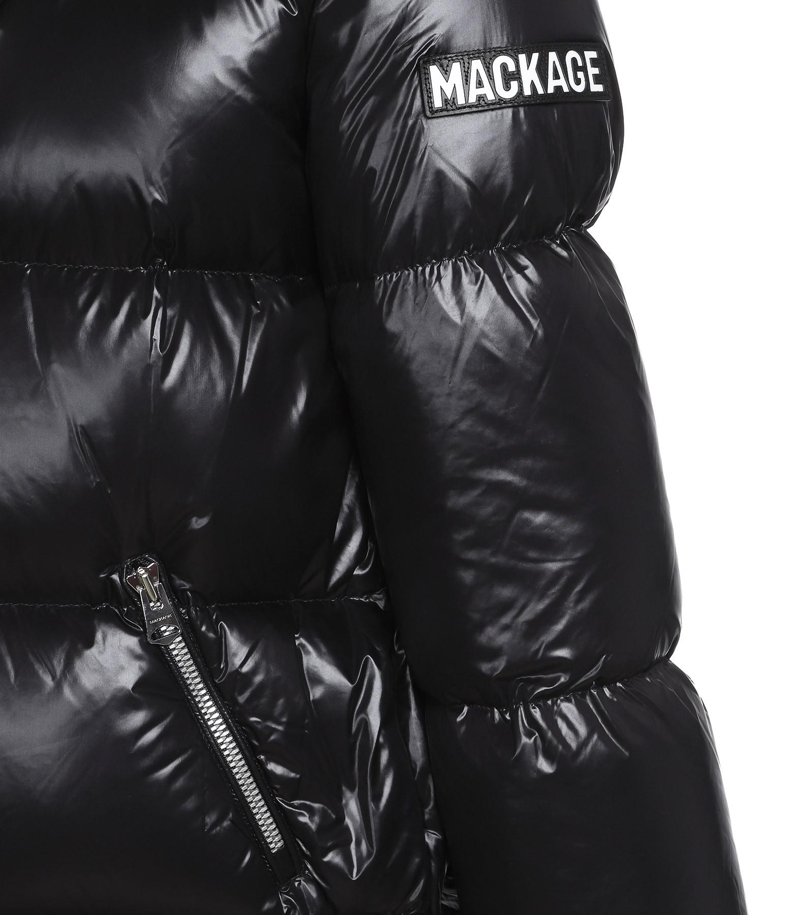 MACKAGE - Doudoune Emerie Duvet Noir
