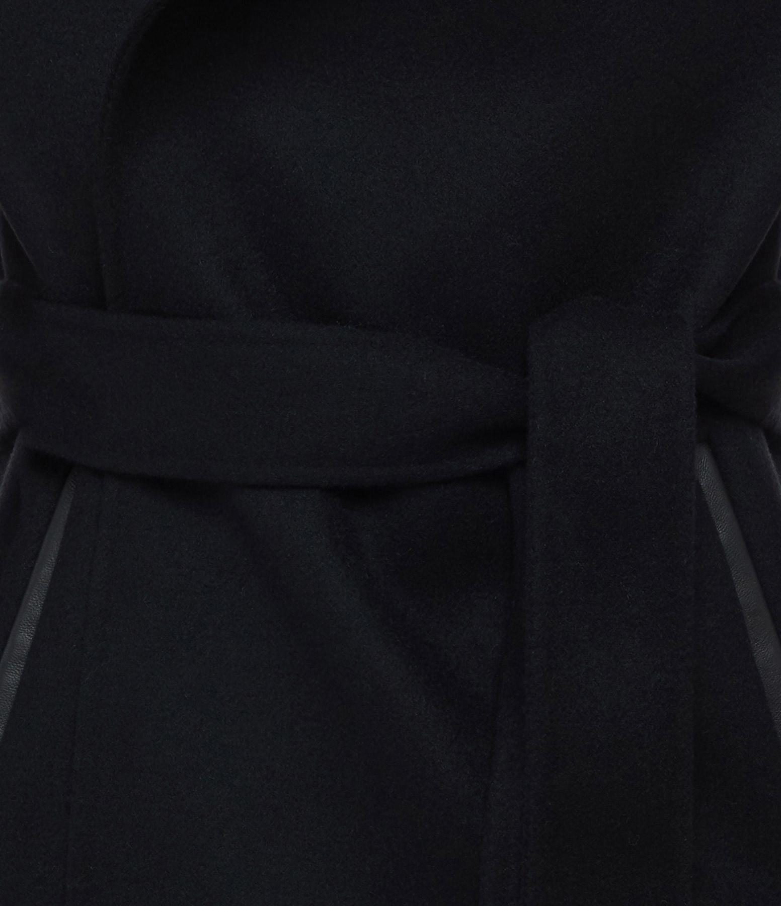 MACKAGE - Manteau Azara Laine Noir