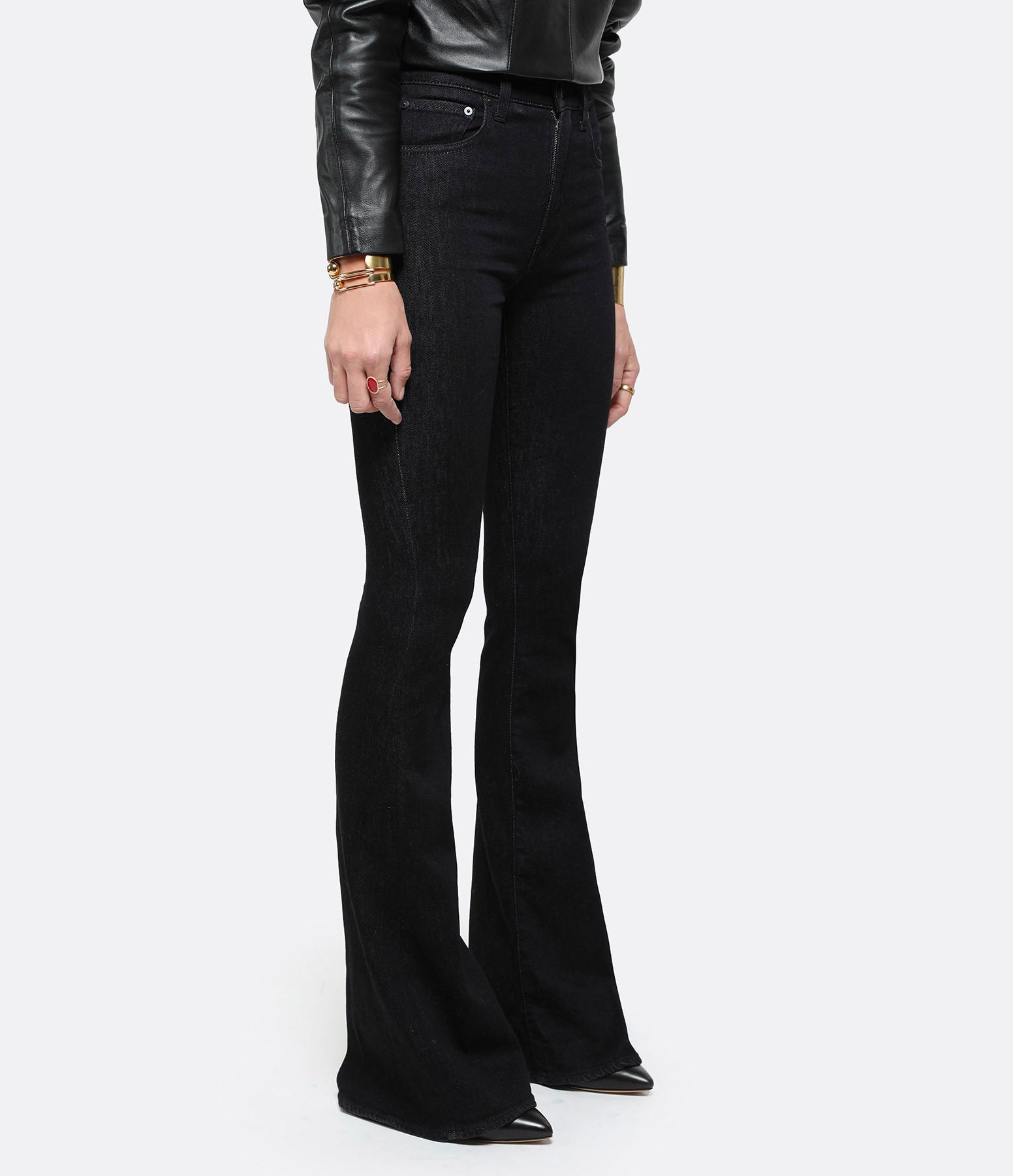 MADE IN TOMBOY - Pantalon Ursula Denim Noir