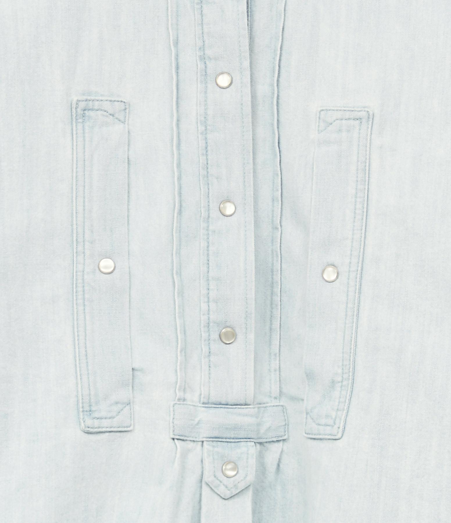 ISABEL MARANT ÉTOILE - Chemise Madoc Denim Bleu Clair