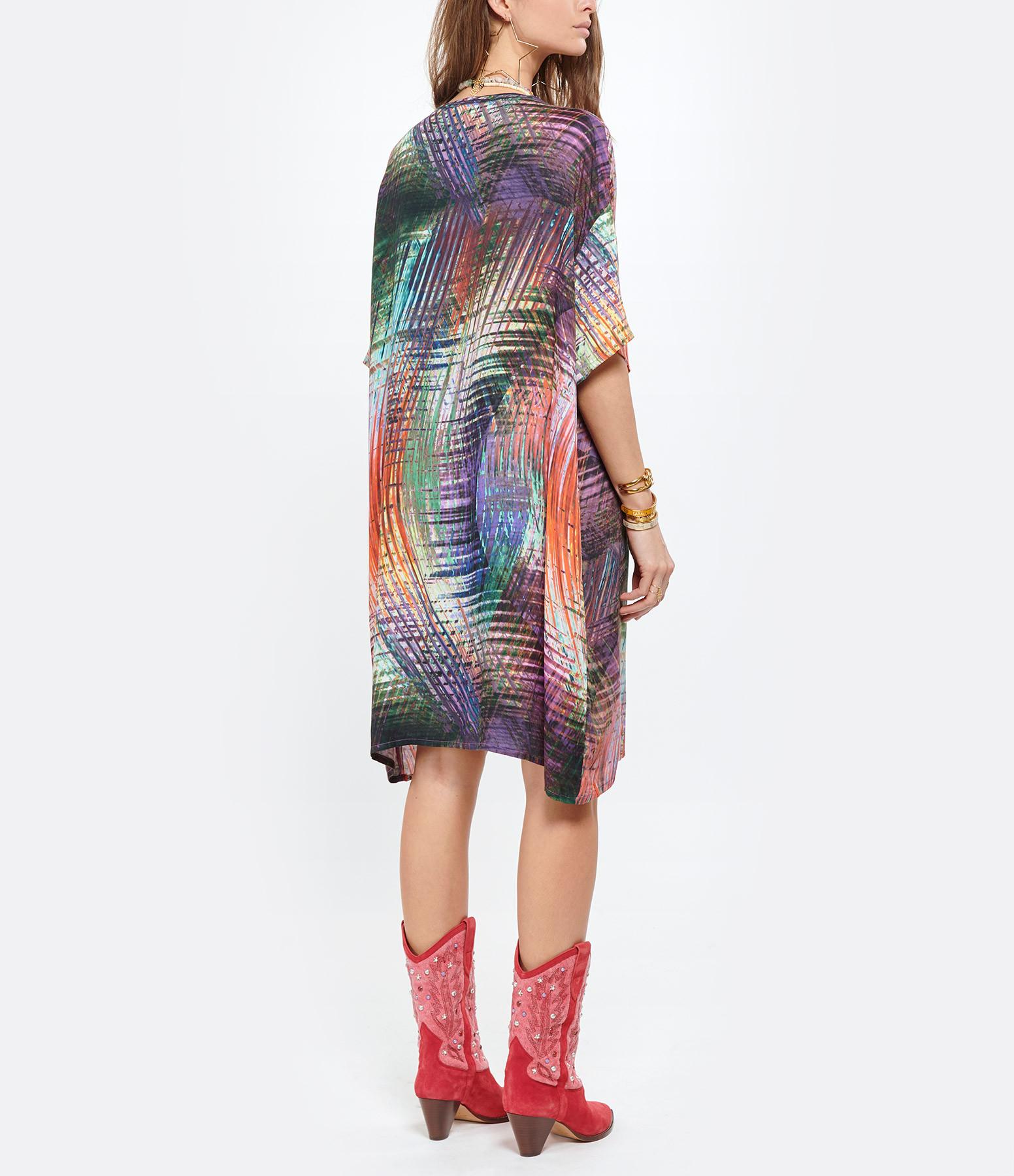 MAEVY - Robe Irisprint Imprimé Multicolore