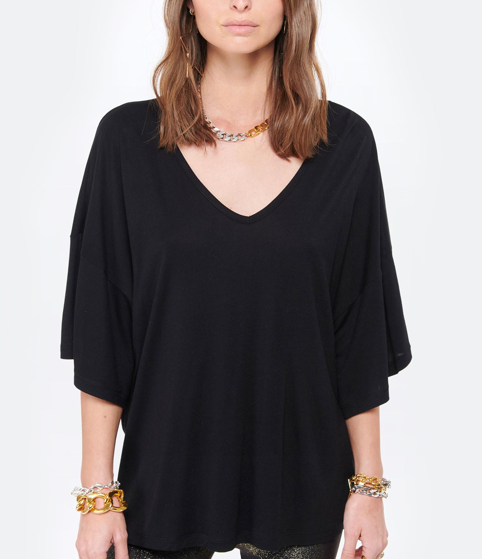 MAEVY - Tee-shirt Marie Bambou Noir
