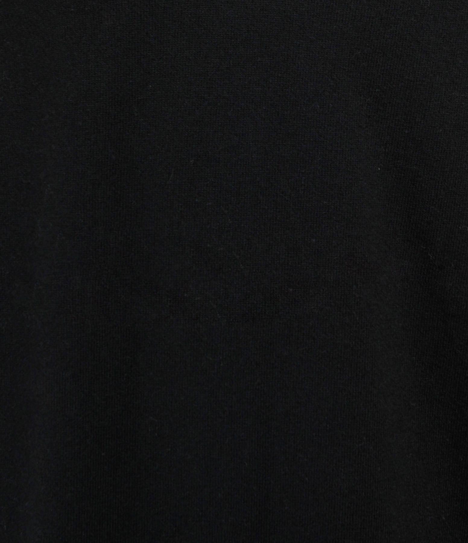 MAEVY CONCEPT - Robe Absolu Cachemire Laine Noir