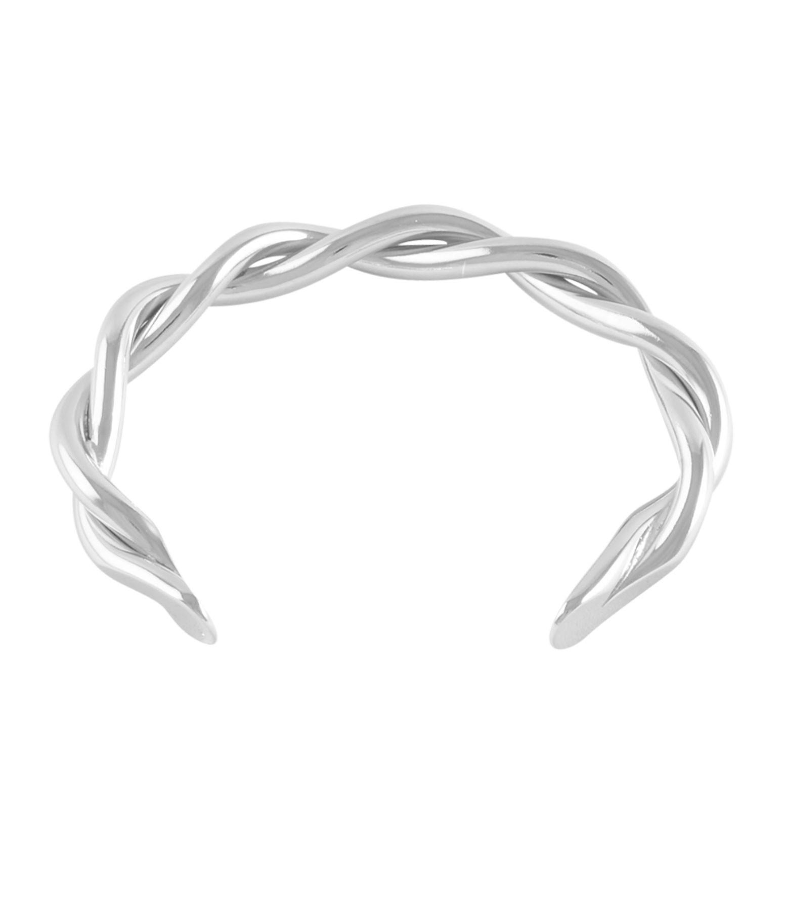 MAGALI PONT - Bracelet Torsade Argent