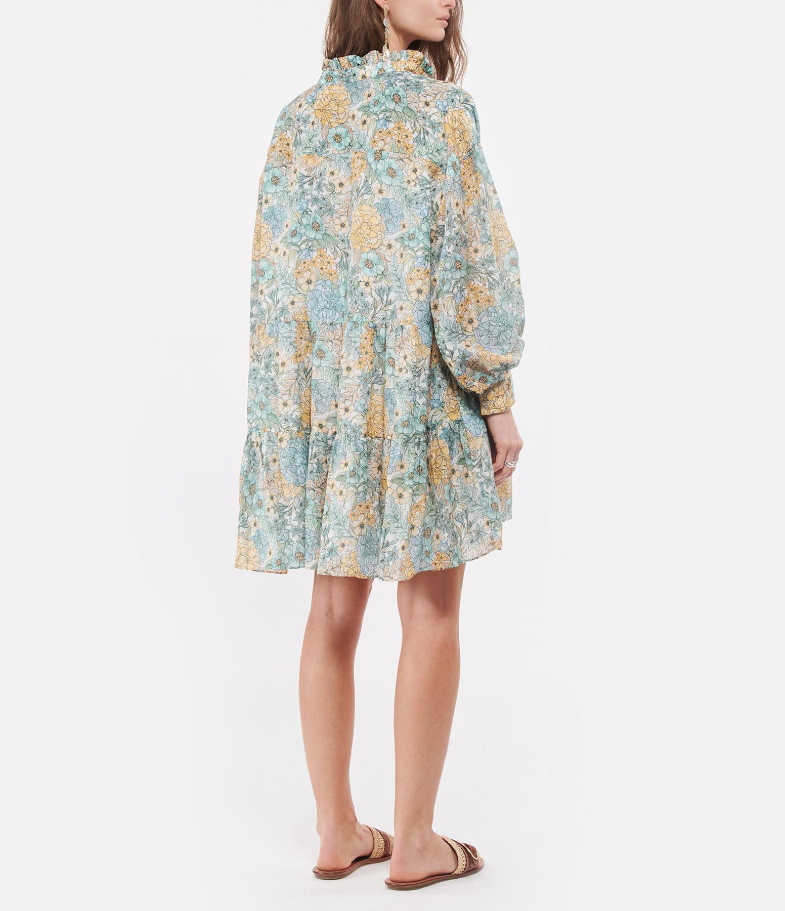 MAGALI PASCAL - Robe Glory Soie Coton Eden Imprimé