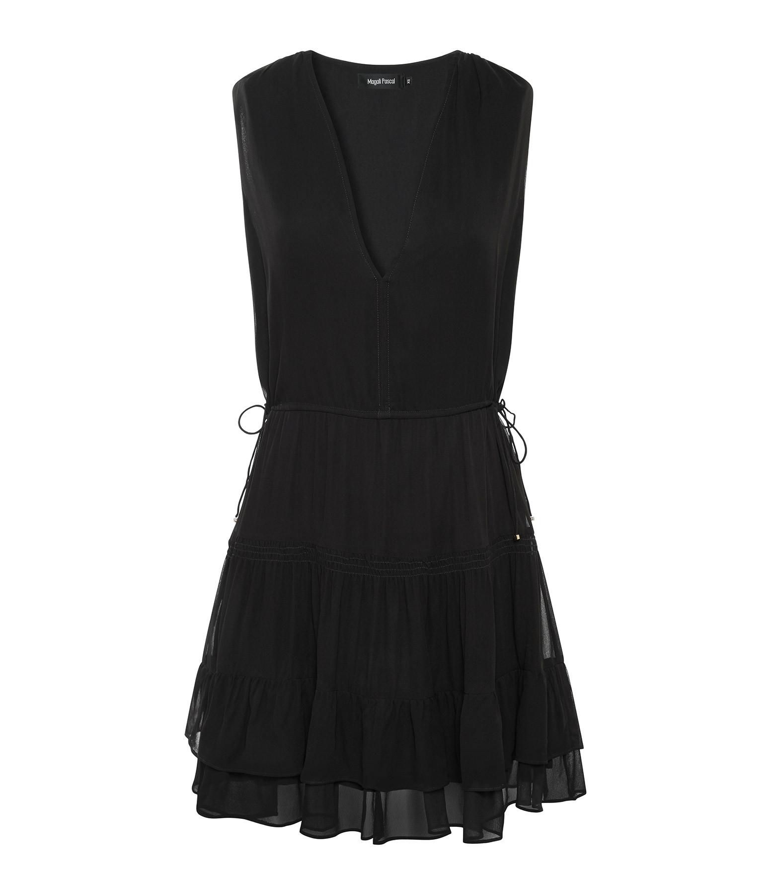 MAGALI PASCAL - Robe Hana Noir