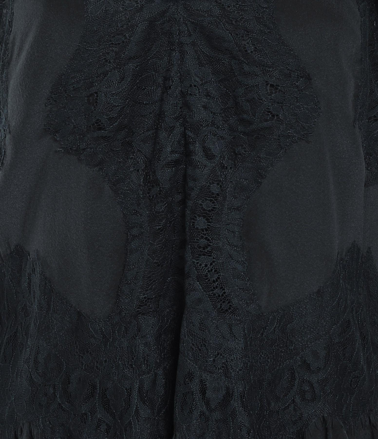 MAGALI PASCAL - Robe Gabrielle Soie Bleu Nuit