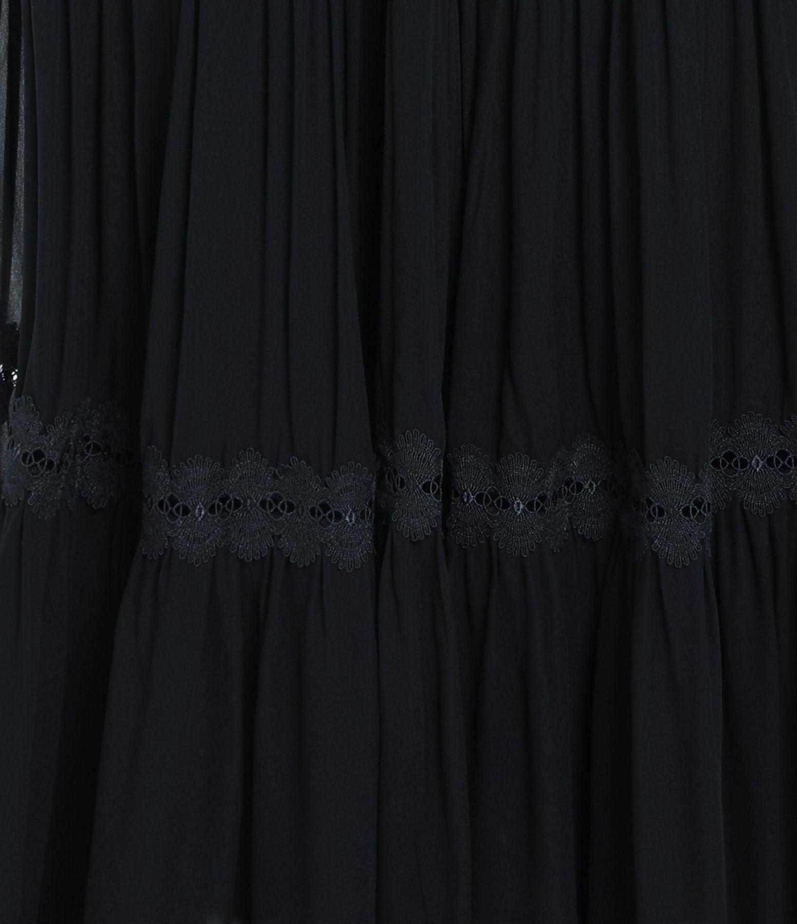 MAGALI PASCAL - Robe Longue Camille Bleu Nuit