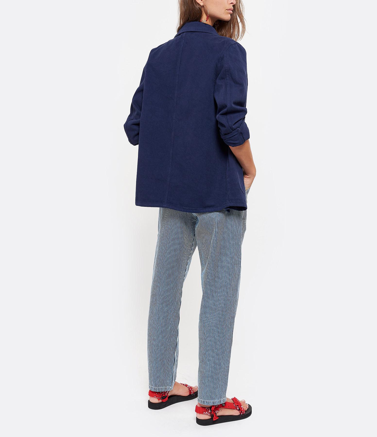 MAISON STANDARDS - Veste Peintre Coton Bleu