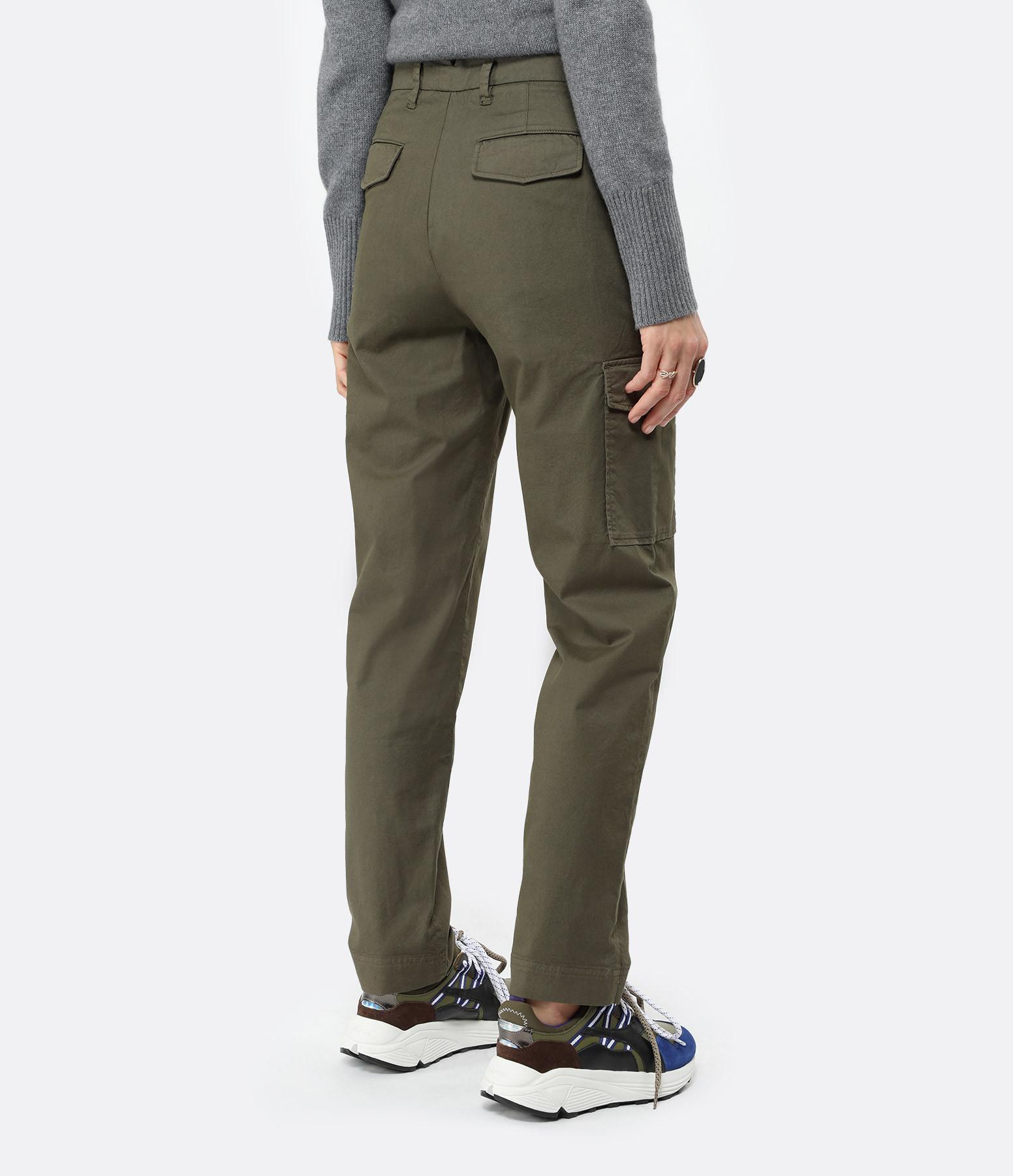 MAISON STANDARDS - Pantalon Militaire Kaki