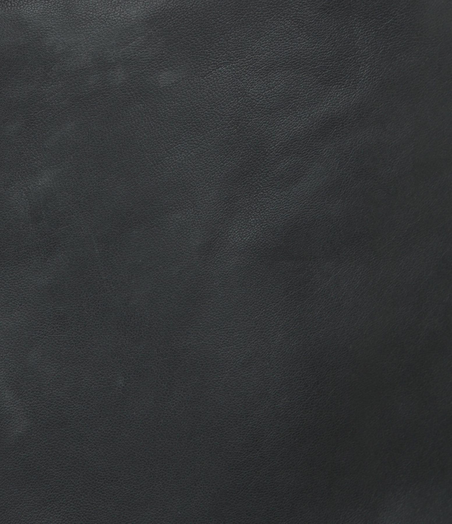 MAISON STANDARDS - Jupe Cuir Noir