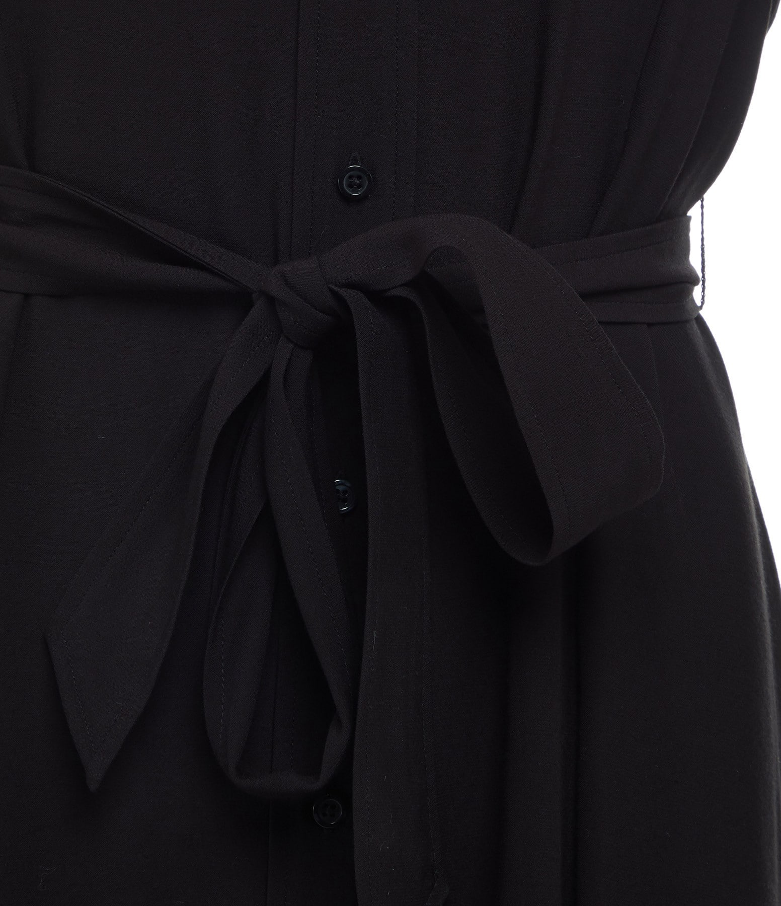 MAISON STANDARDS - Robe Chemise Longue Noir