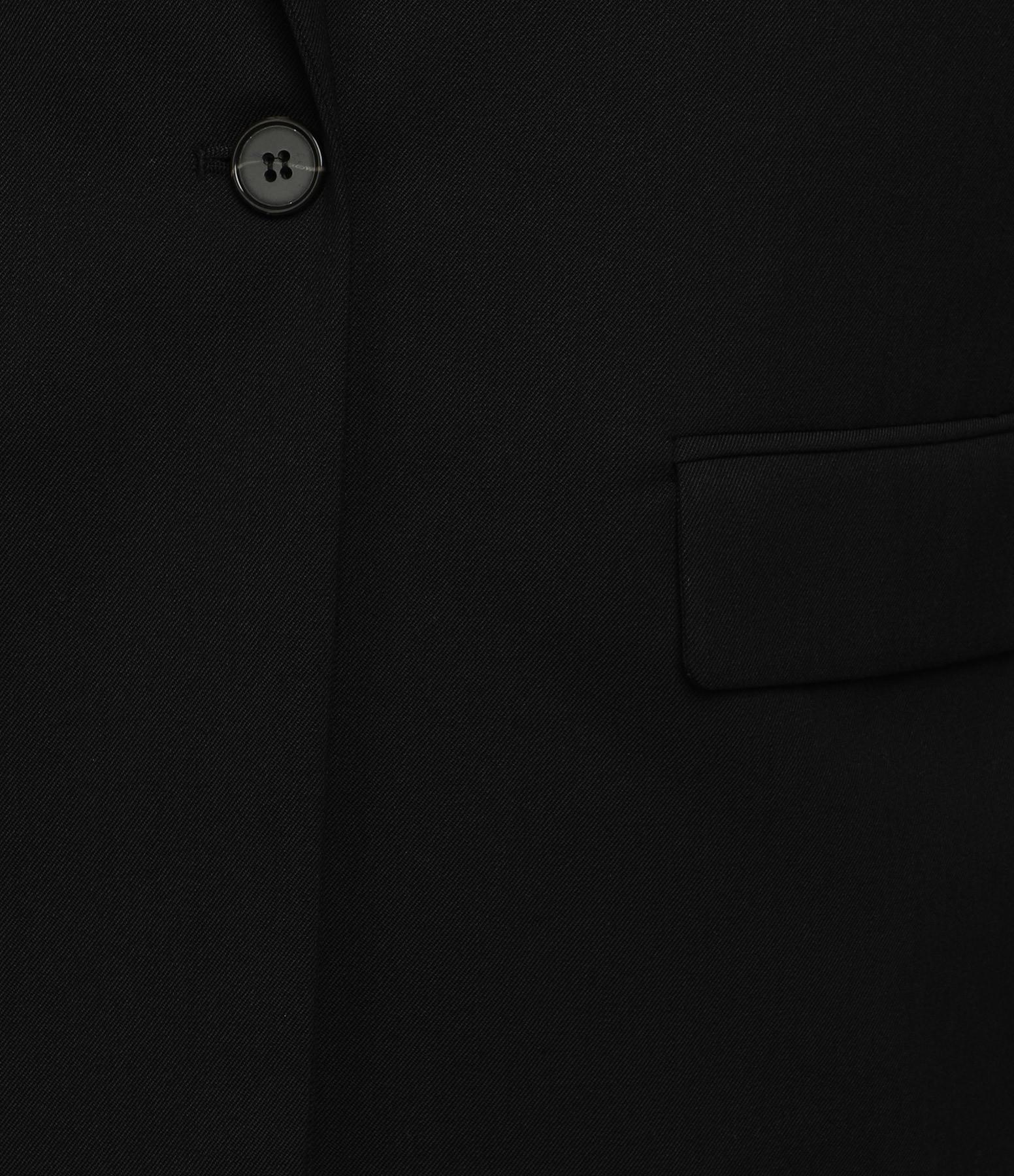 MAISON STANDARDS - Veste Loose Bi-matière Noir