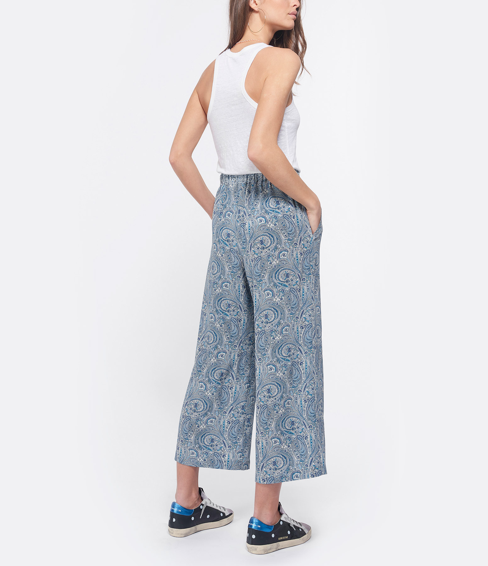 VANESSA BRUNO - Pantalon Lyor Bleu Royal