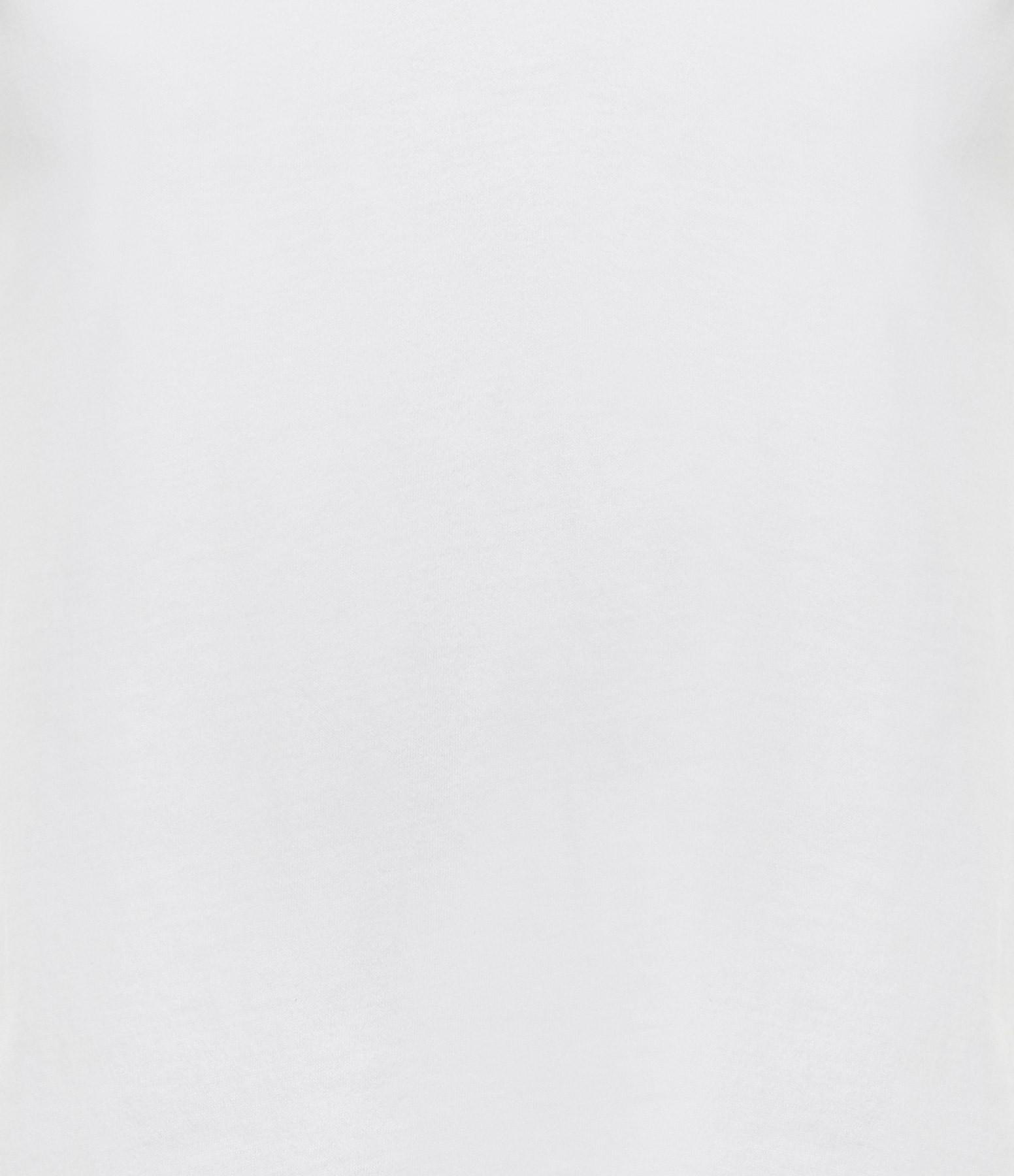 MAJESTIC FILATURES - Tee-shirt Julia Col V Coton Blanc