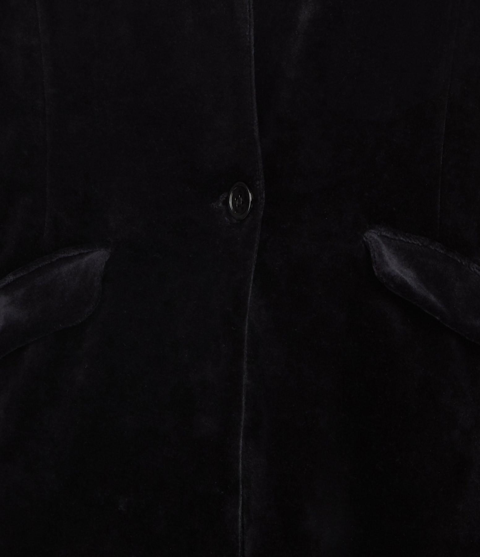 MAJESTIC FILATURES - Veste Coton Noir