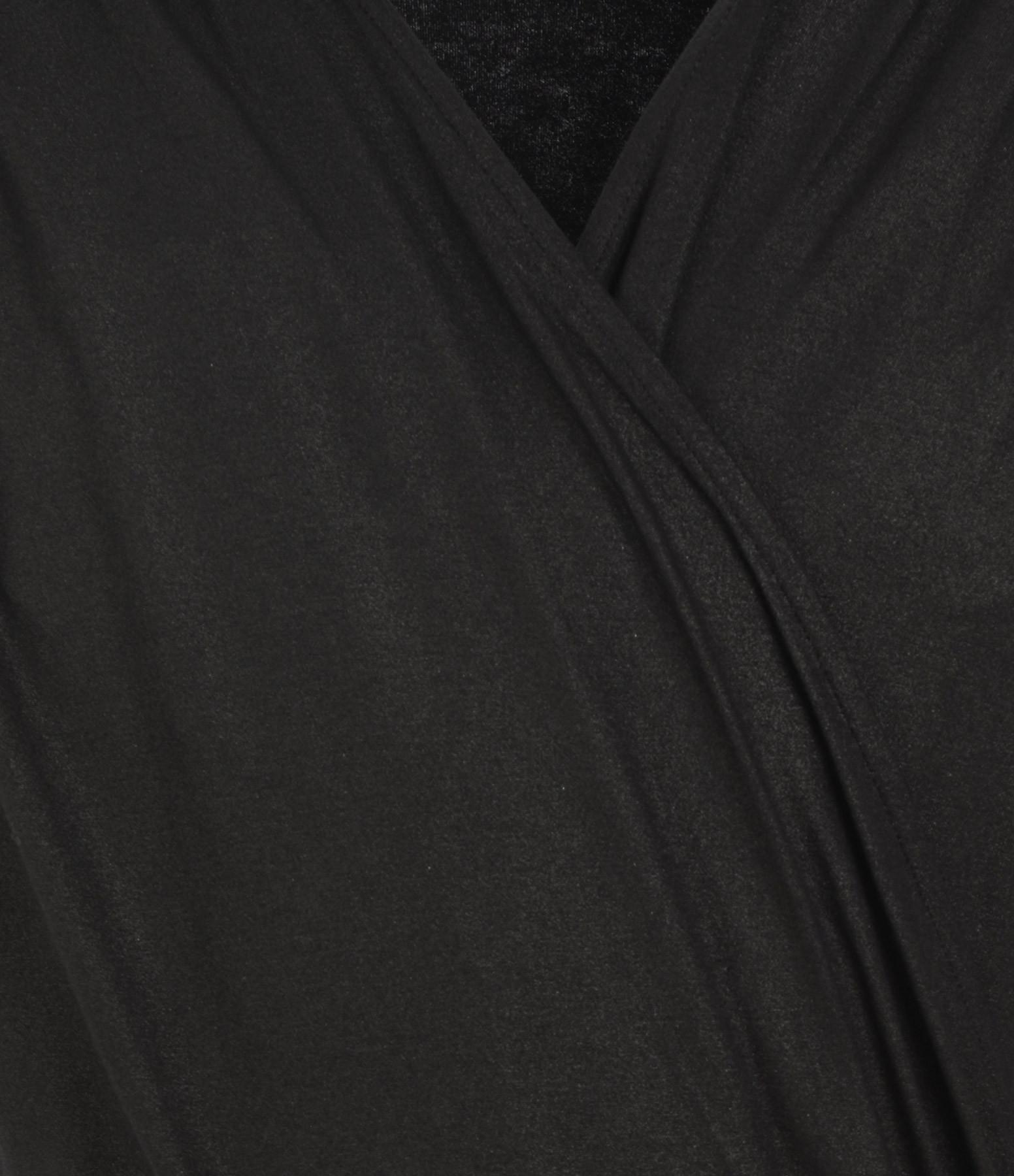 MAJESTIC FILATURES - Combinaison Cache Cœur Noir Métallisé