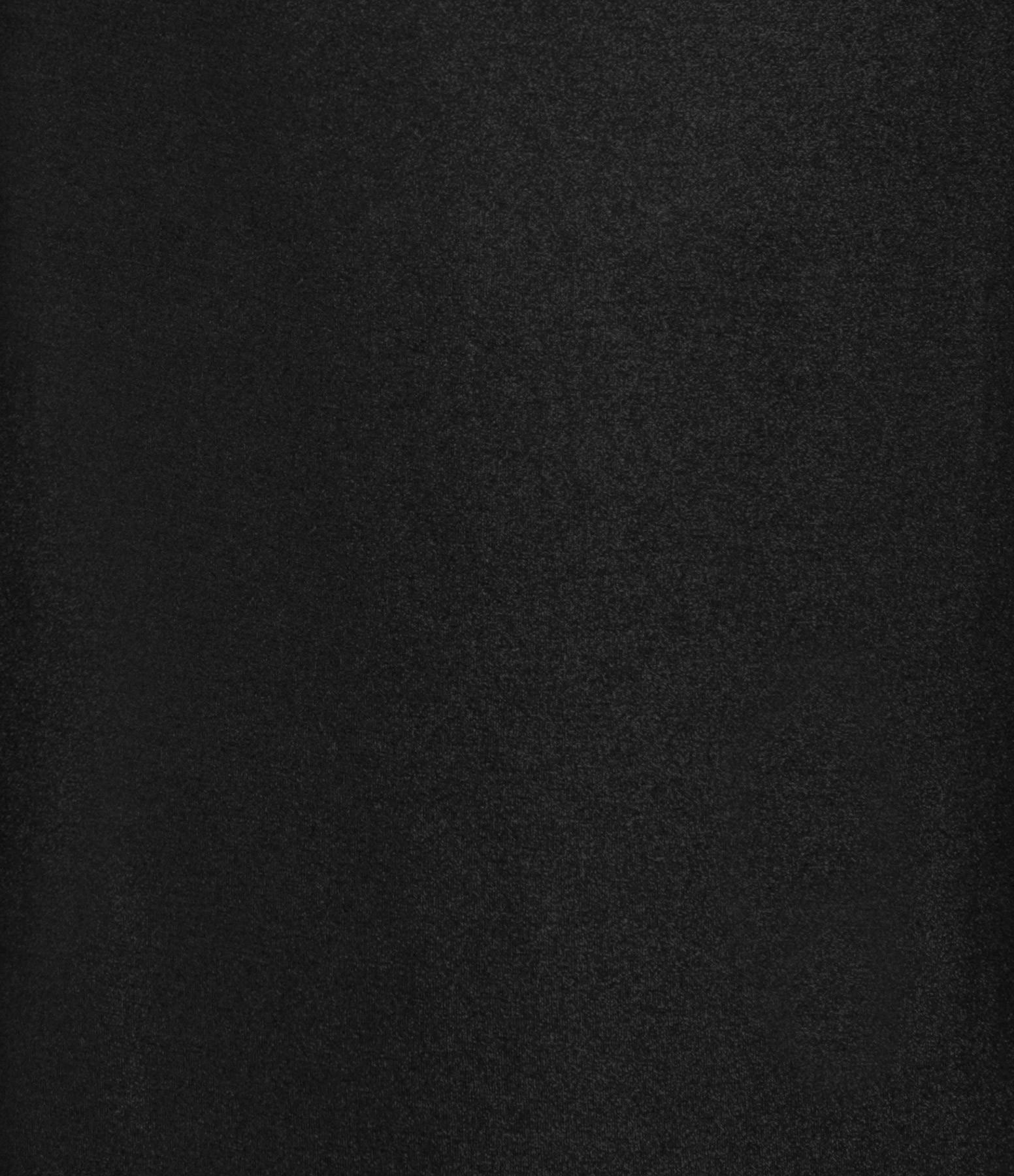 MAJESTIC FILATURES - Robe Col Rond Noir Métallisé