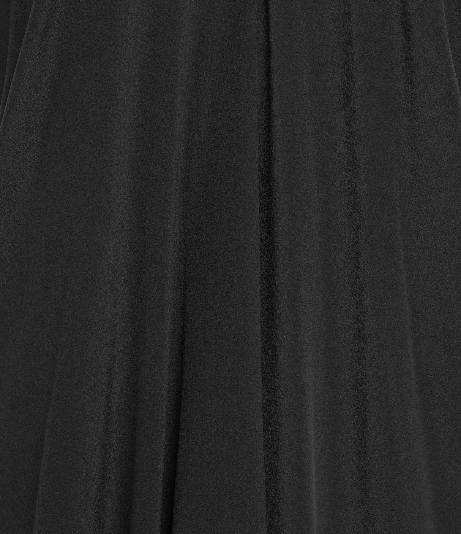 MARE DI LATTE - Robe Tabata Crêpe Soie Noir