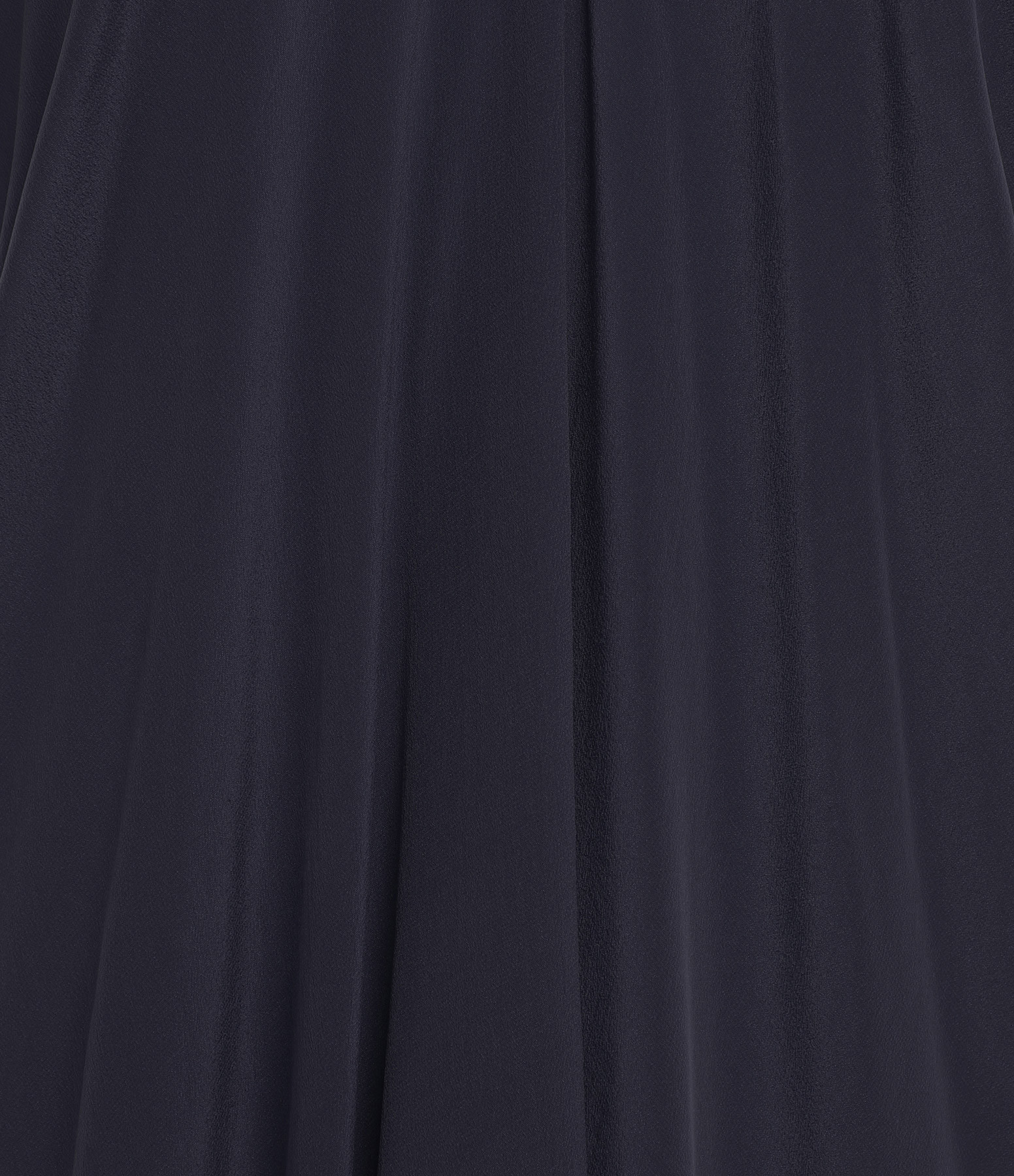 MARE DI LATTE - Robe Tabata Crêpe Soie Bleu Encre