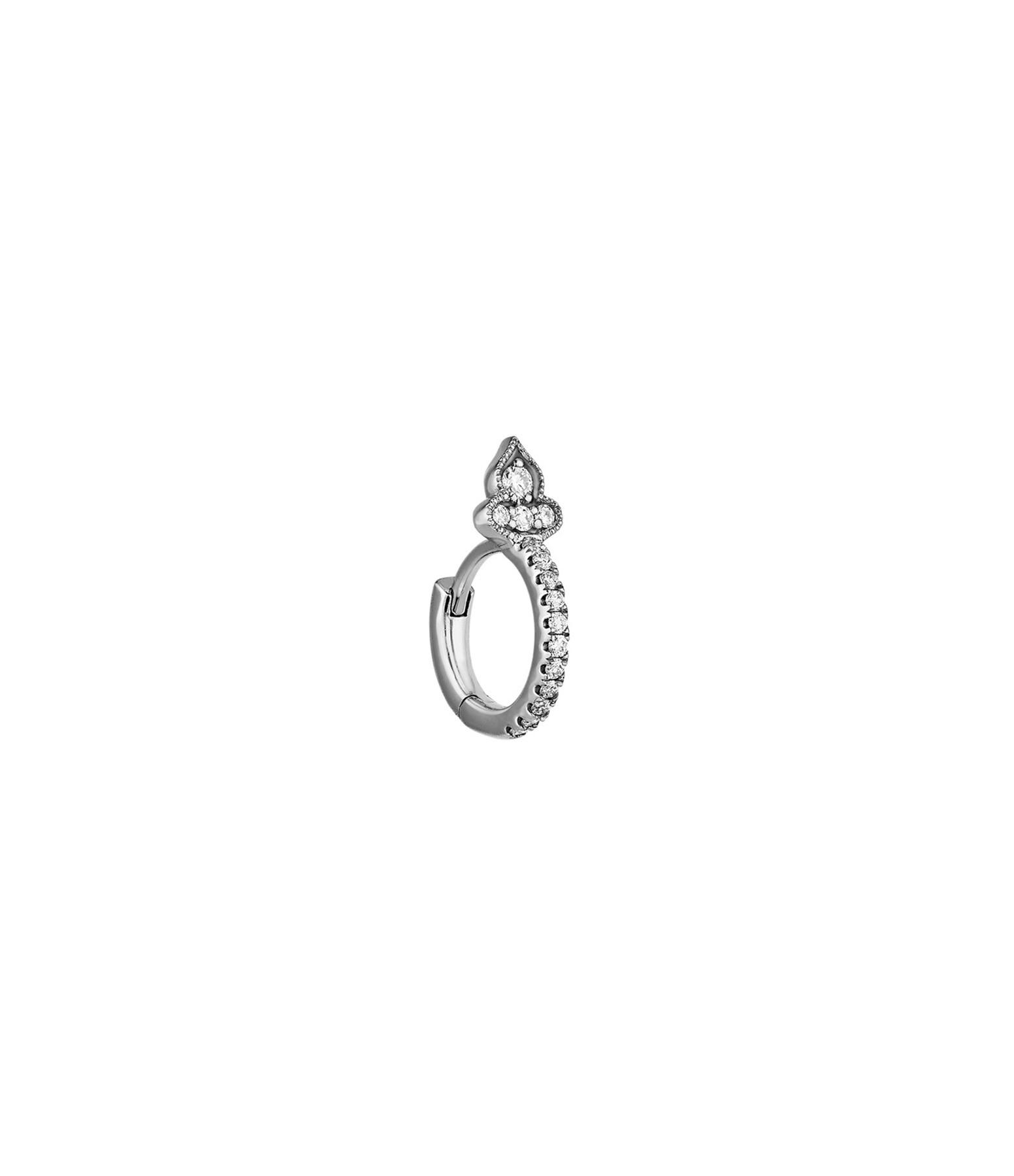 STONE PARIS - Mini Créole Marie Antoinette Or Diamants (vendue à l'unité)